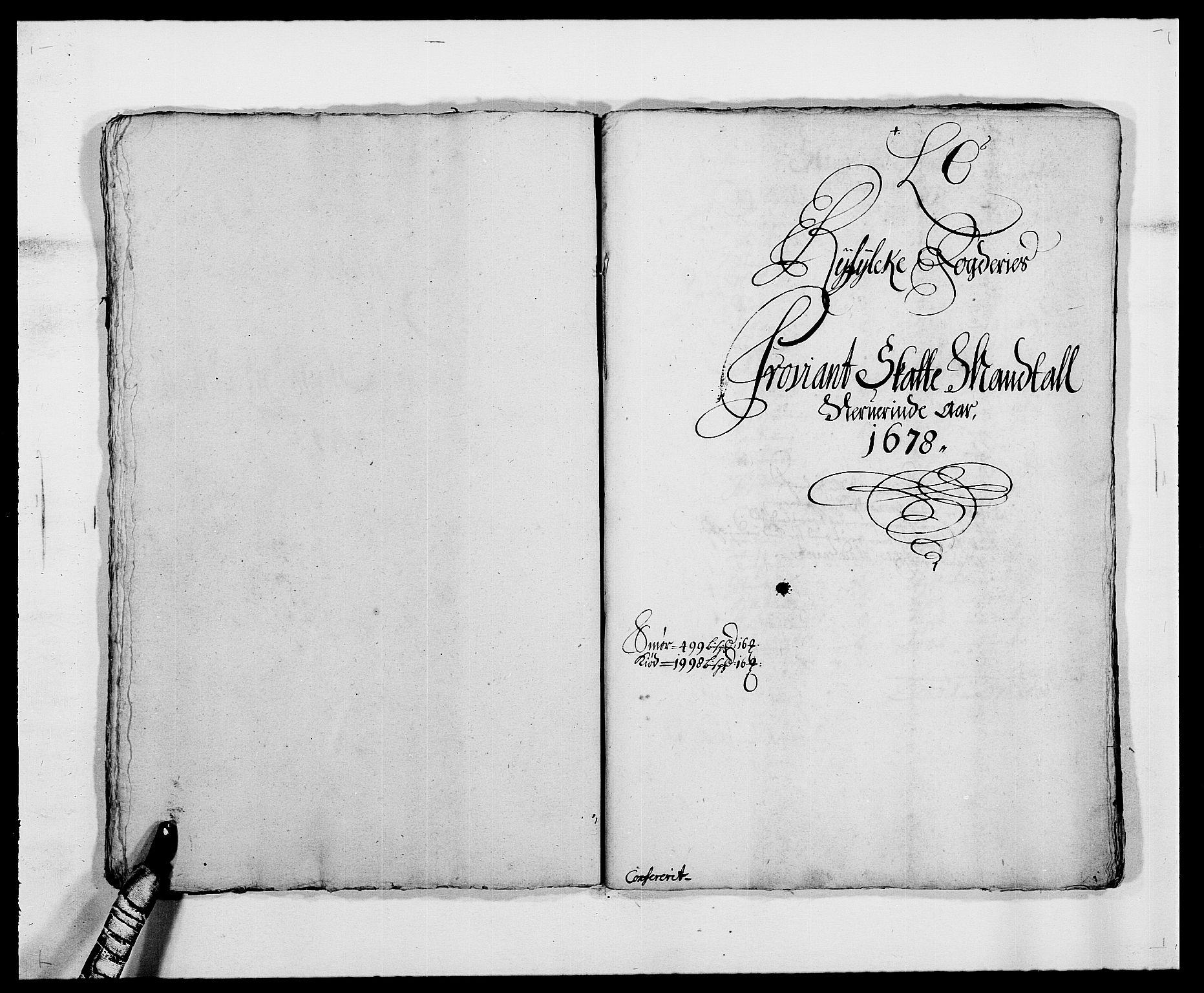 RA, Rentekammeret inntil 1814, Reviderte regnskaper, Fogderegnskap, R47/L2848: Fogderegnskap Ryfylke, 1678, s. 133