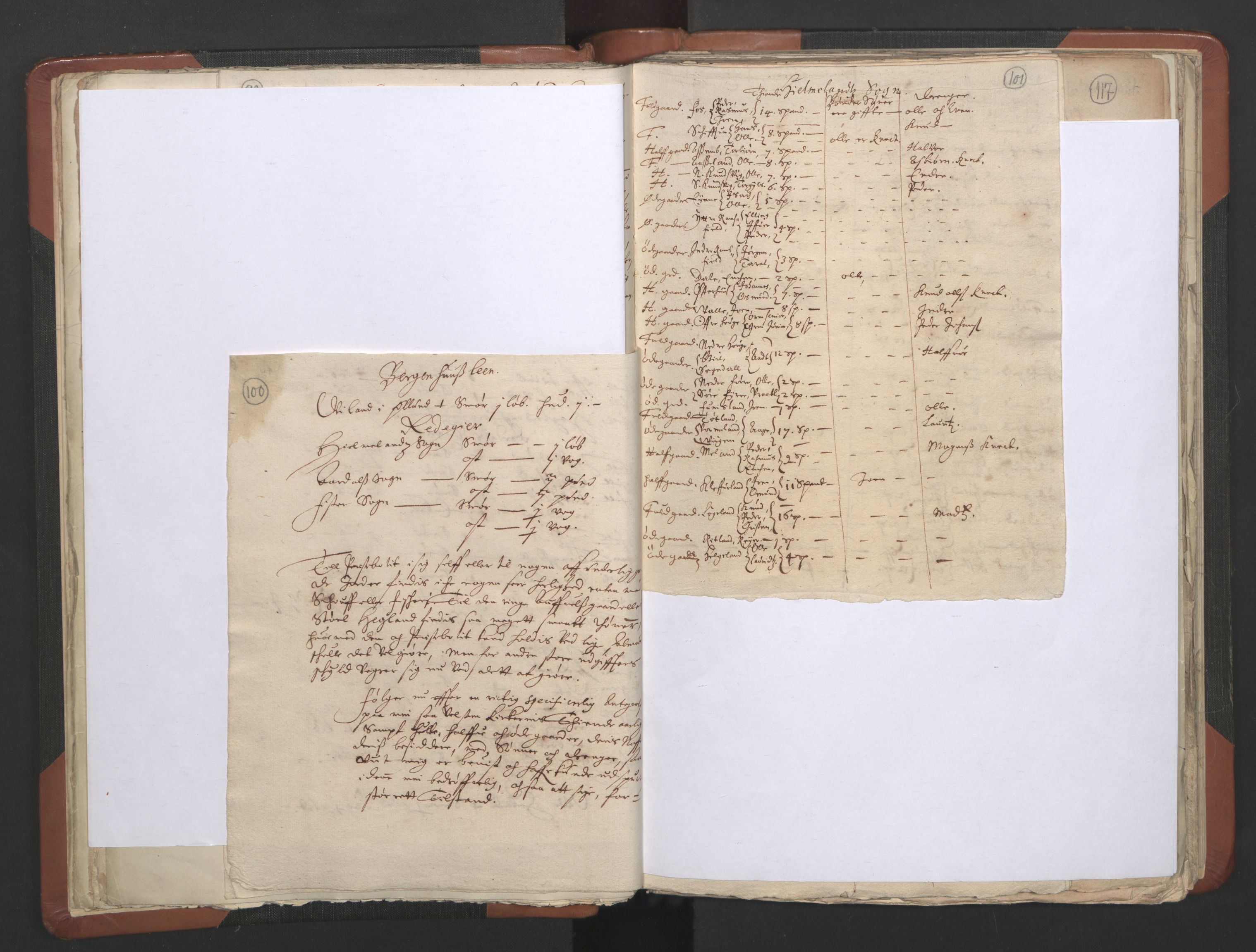 RA, Sogneprestenes manntall 1664-1666, nr. 19: Ryfylke prosti, 1664-1666, s. 100-101