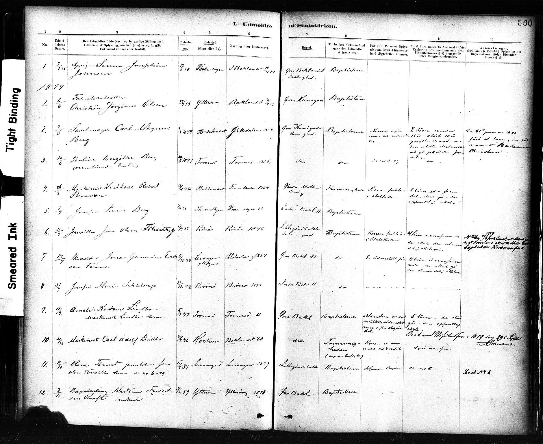 SAT, Ministerialprotokoller, klokkerbøker og fødselsregistre - Sør-Trøndelag, 604/L0189: Ministerialbok nr. 604A10, 1878-1892, s. 360