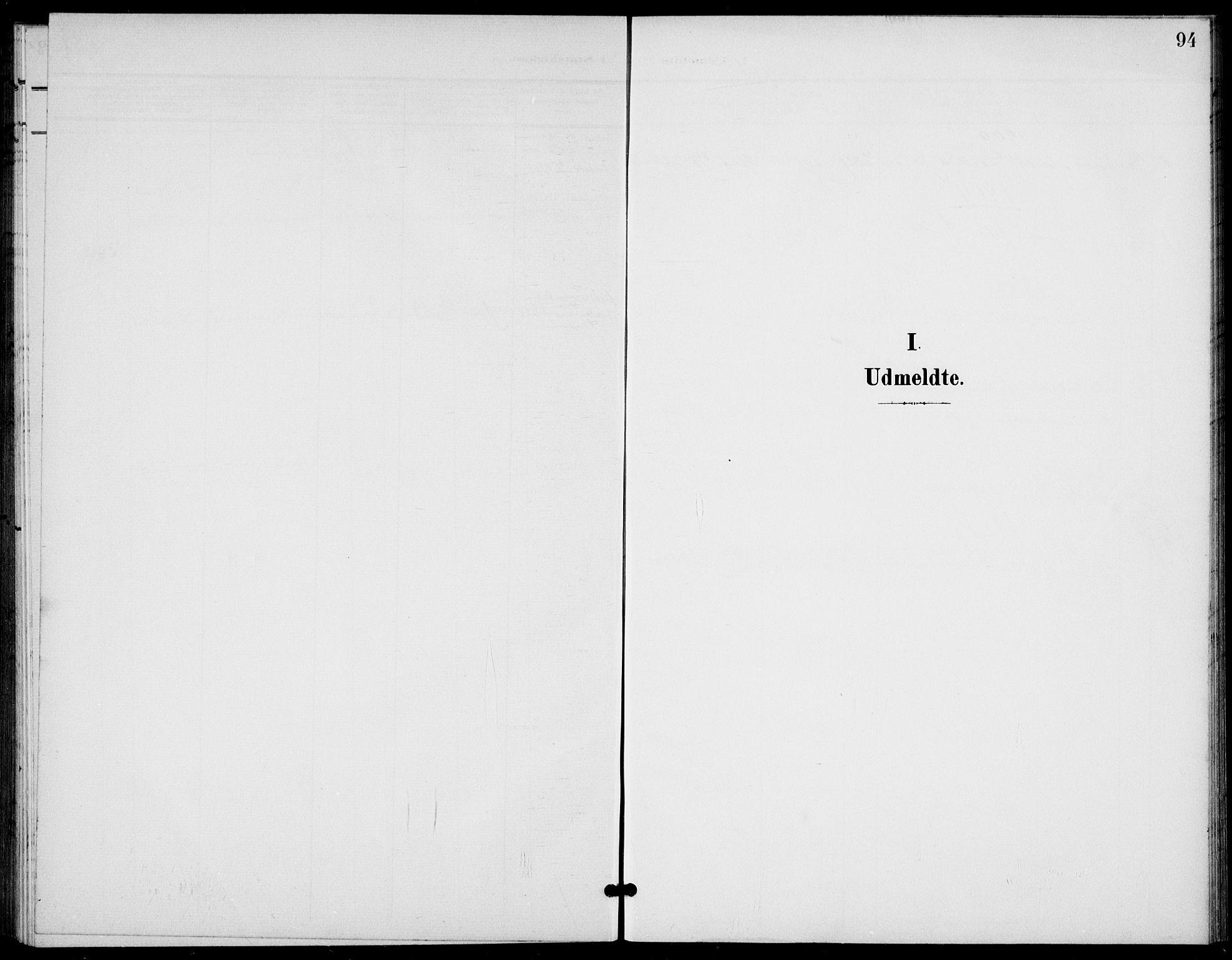 SAKO, Bamble kirkebøker, G/Gb/L0002: Klokkerbok nr. II 2, 1900-1925, s. 94