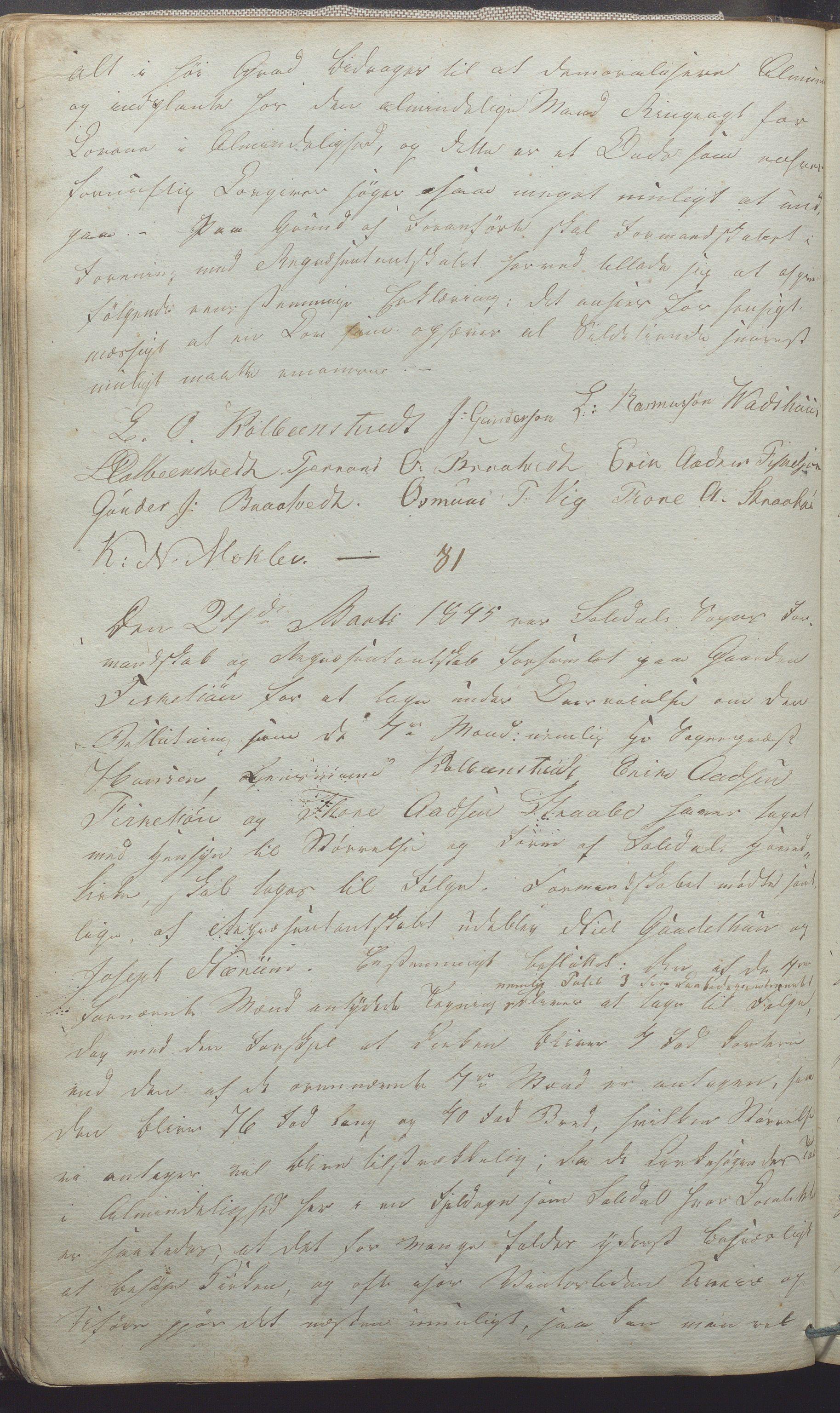 IKAR, Suldal kommune - Formannskapet/Rådmannen, A/Aa/L0001: Møtebok, 1837-1876, s. 60b