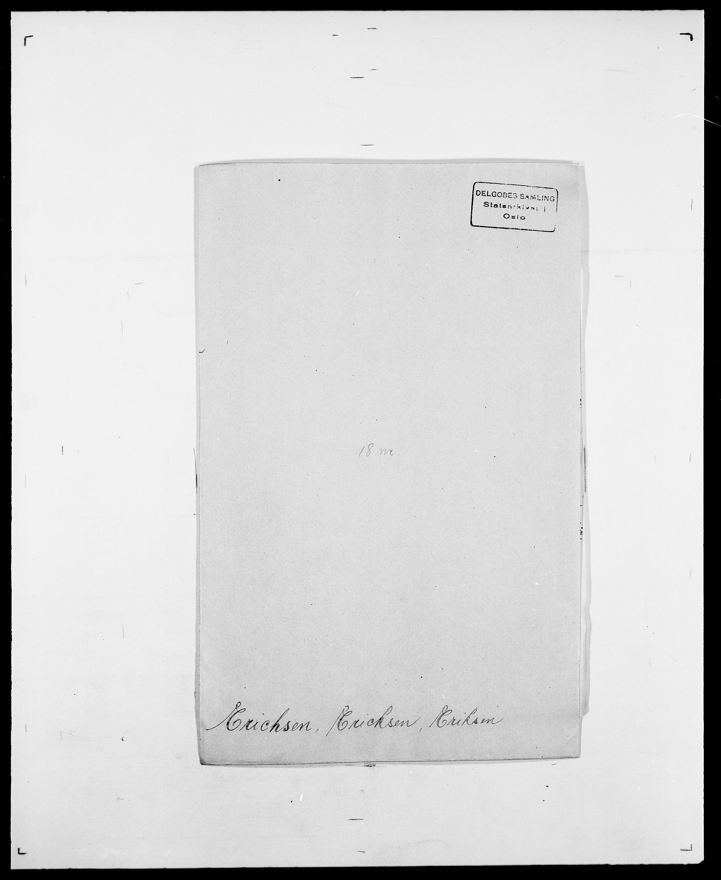 SAO, Delgobe, Charles Antoine - samling, D/Da/L0010: Dürendahl - Fagelund, s. 574