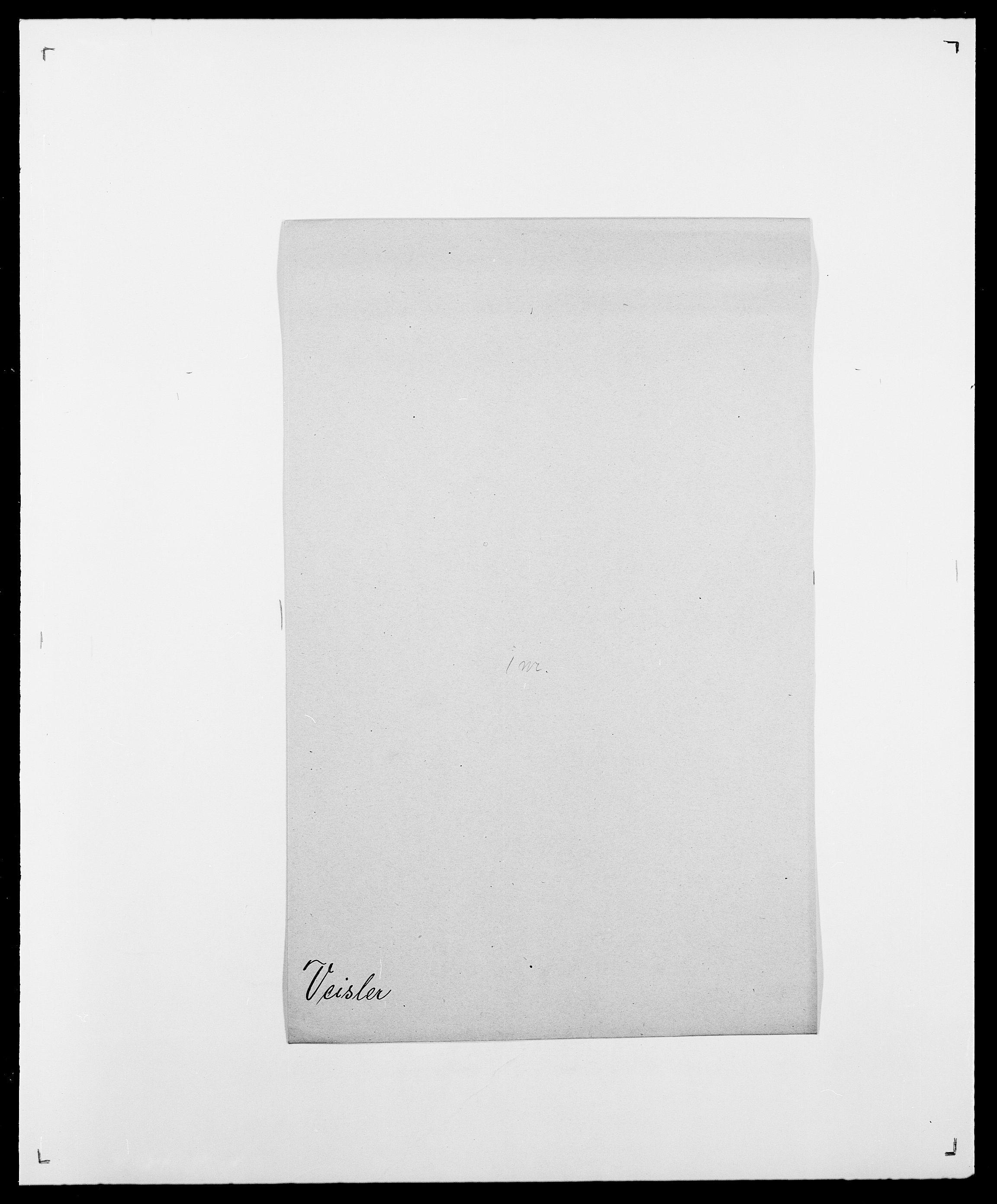 SAO, Delgobe, Charles Antoine - samling, D/Da/L0040: Usgaard - Velund, s. 616