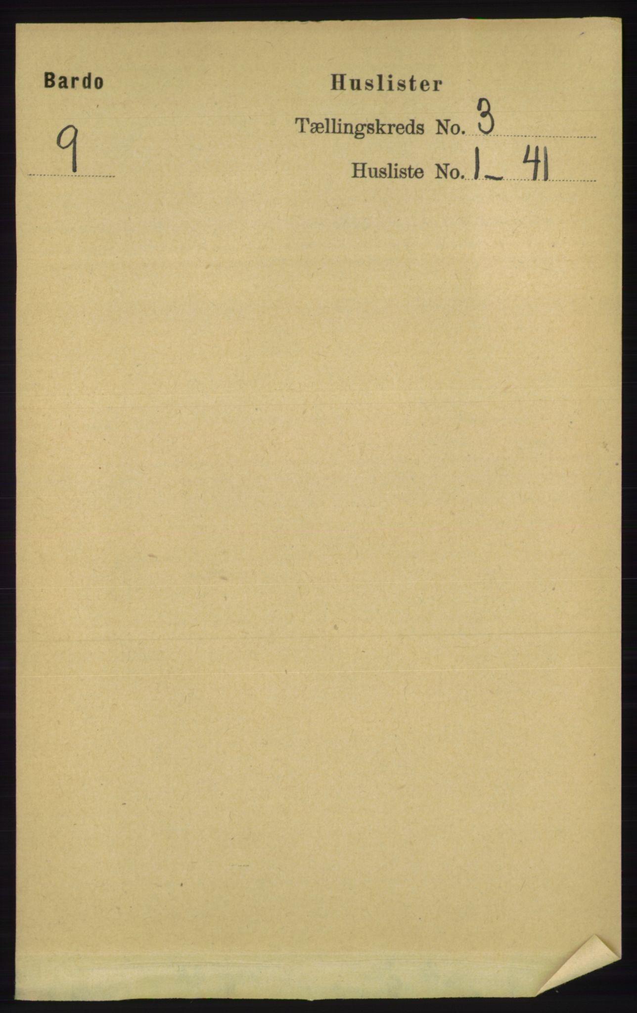 RA, Folketelling 1891 for 1922 Bardu herred, 1891, s. 859