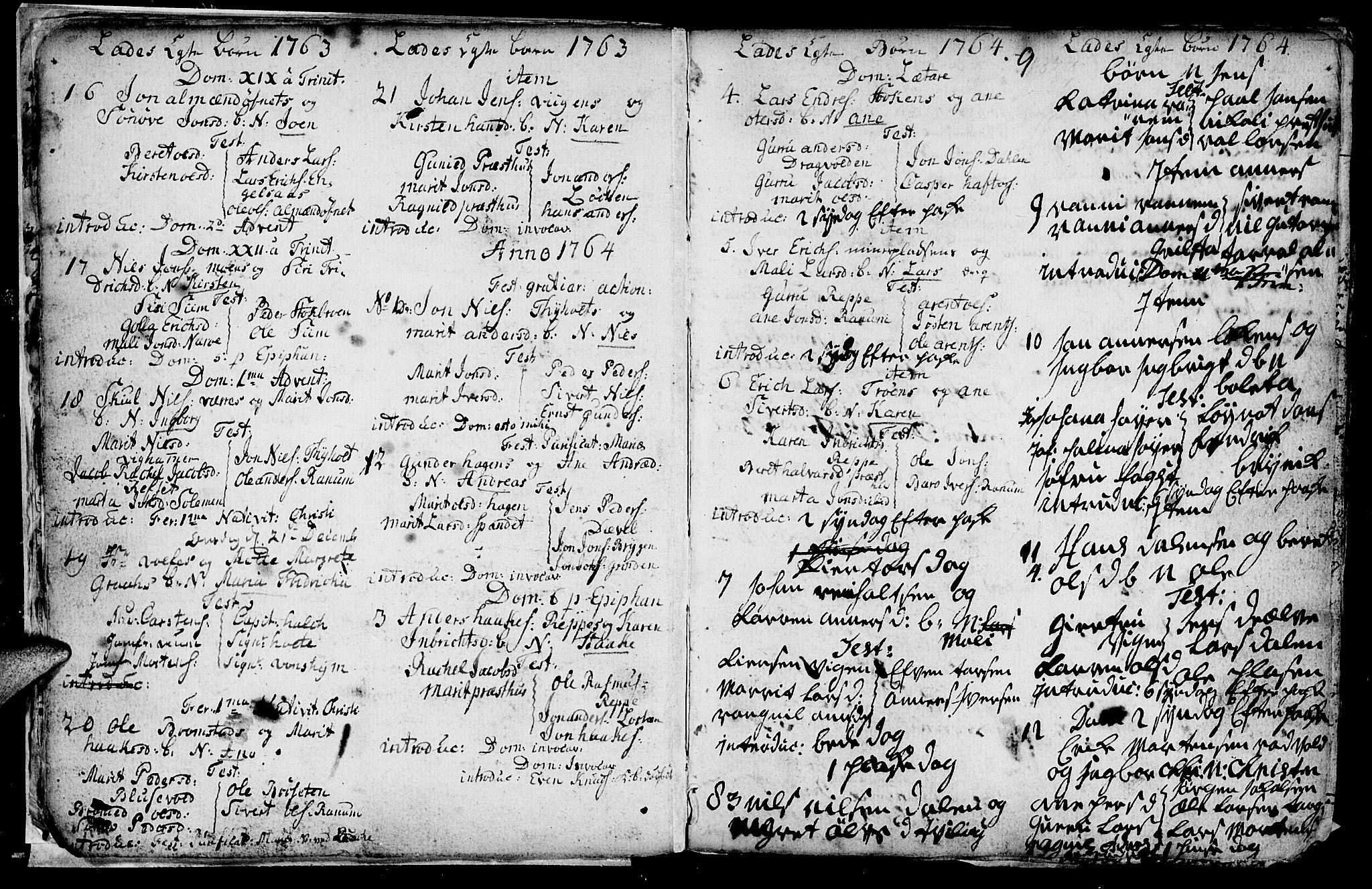 SAT, Ministerialprotokoller, klokkerbøker og fødselsregistre - Sør-Trøndelag, 606/L0305: Klokkerbok nr. 606C01, 1757-1819, s. 9