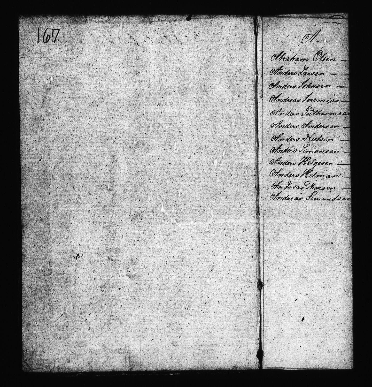RA, Sjøetaten, F/L0168: Bragernes distrikt, bind 1, 1813