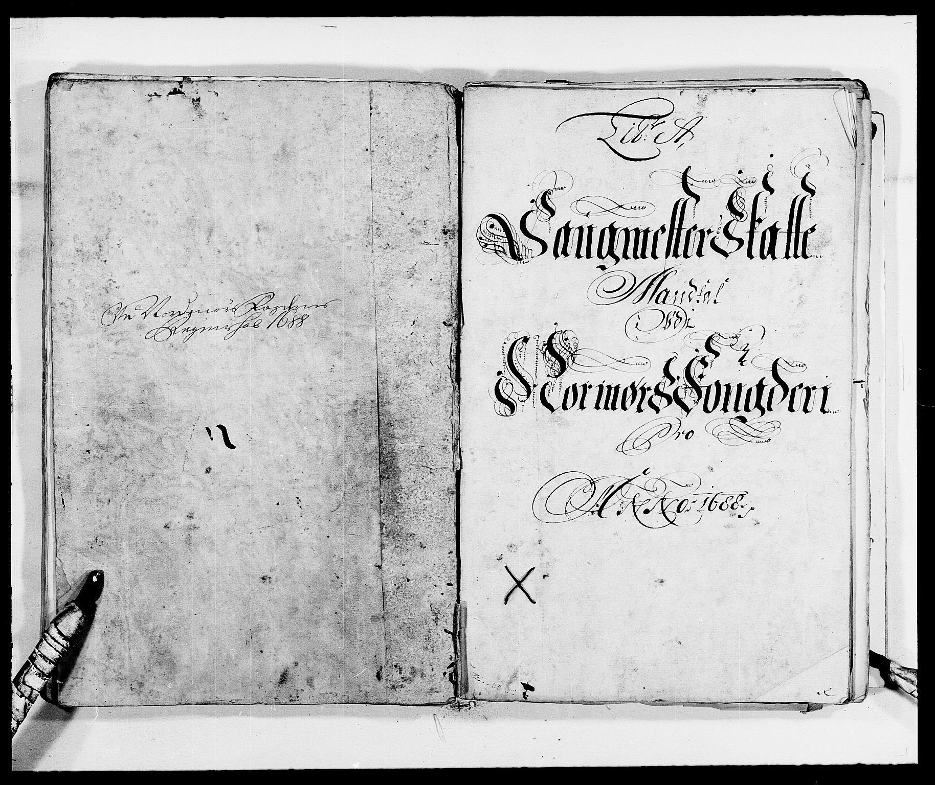 RA, Rentekammeret inntil 1814, Reviderte regnskaper, Fogderegnskap, R56/L3733: Fogderegnskap Nordmøre, 1687-1689, s. 222