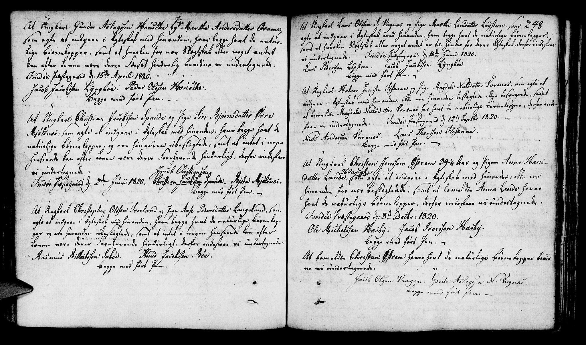 SAST, Finnøy sokneprestkontor, H/Ha/Haa/L0005: Ministerialbok nr. A 5, 1773-1816, s. 248