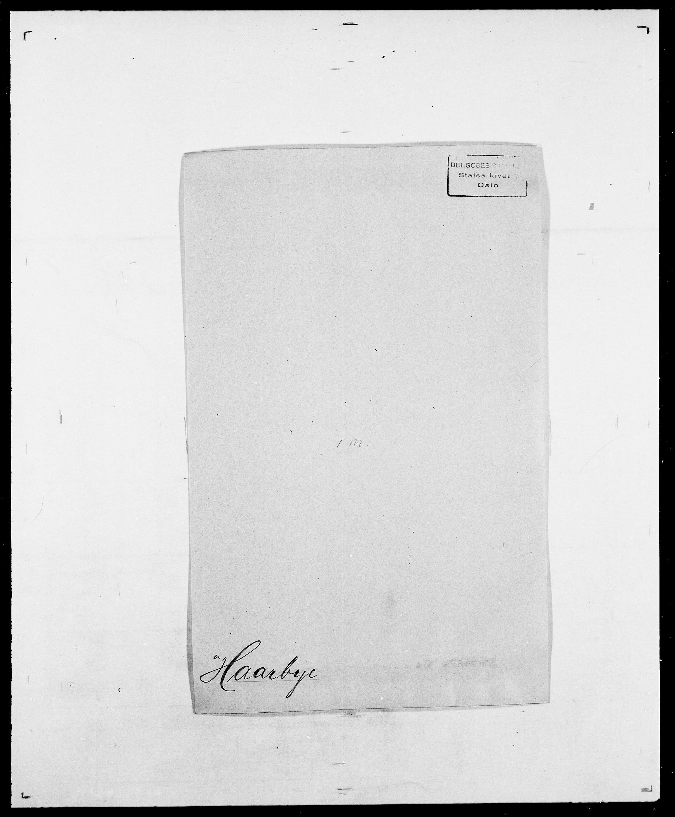 SAO, Delgobe, Charles Antoine - samling, D/Da/L0015: Grodtshilling - Halvorsæth, s. 612
