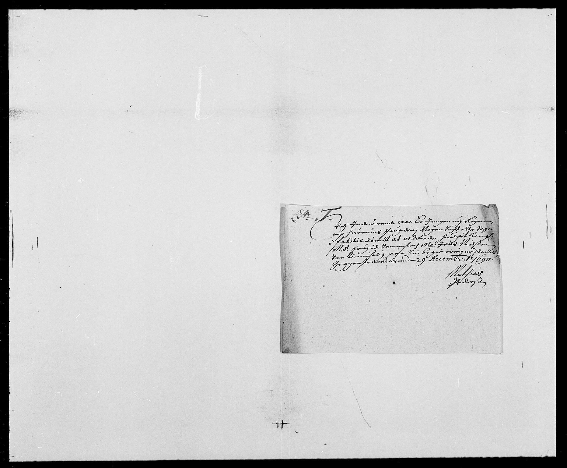 RA, Rentekammeret inntil 1814, Reviderte regnskaper, Fogderegnskap, R29/L1693: Fogderegnskap Hurum og Røyken, 1688-1693, s. 150