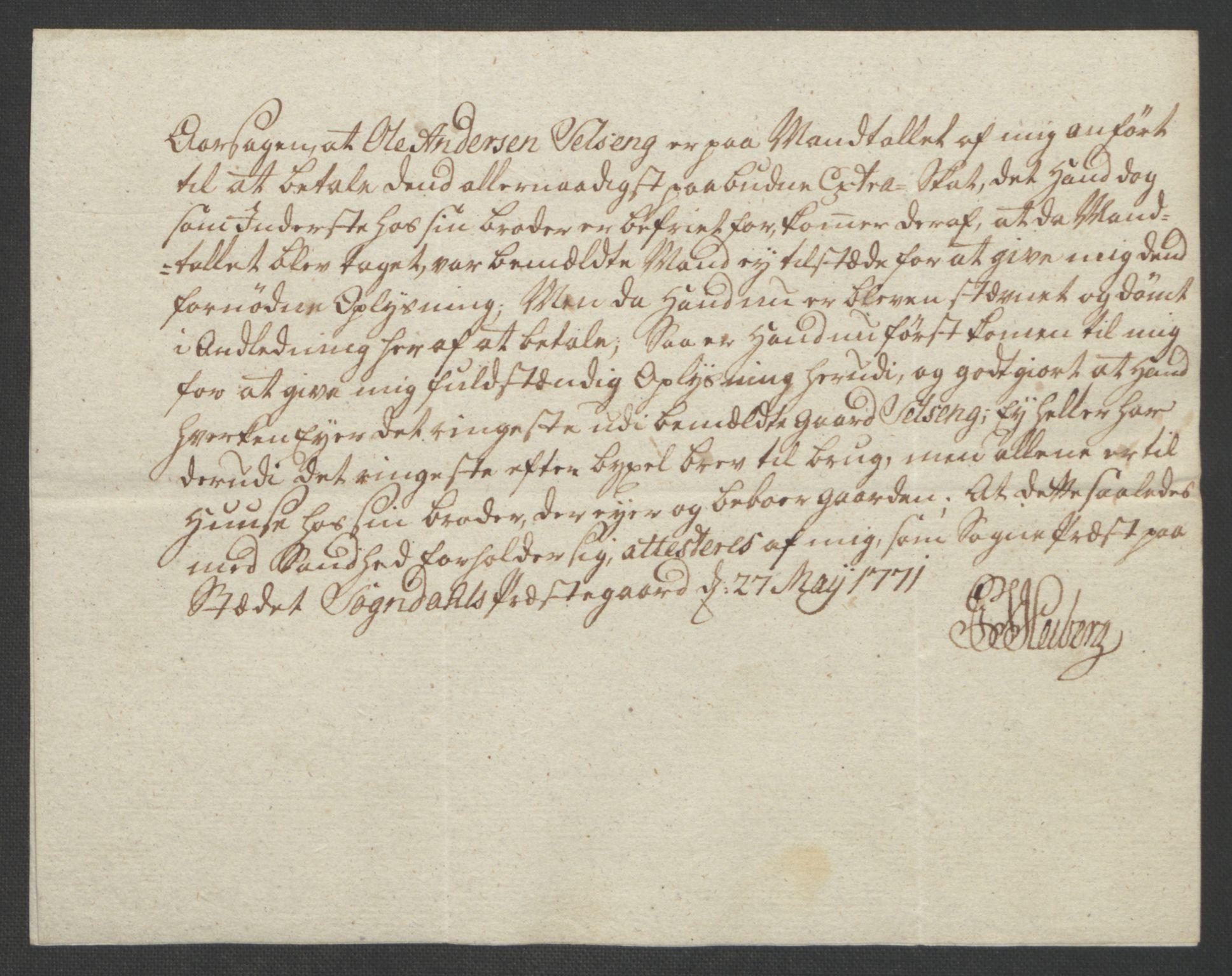 RA, Rentekammeret inntil 1814, Realistisk ordnet avdeling, Ol/L0018: [Gg 10]: Ekstraskatten, 23.09.1762. Sogn, 1762-1772, s. 343