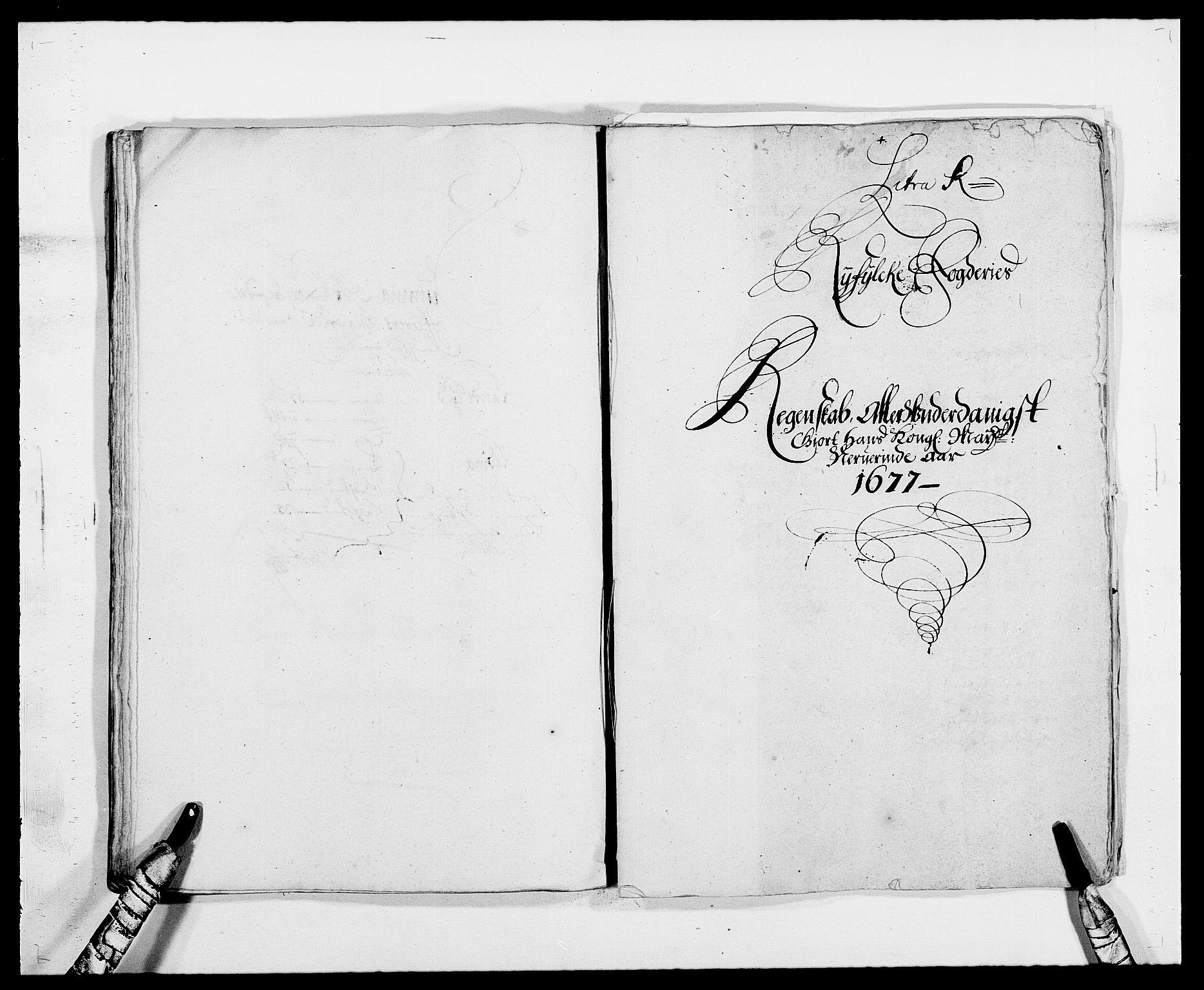 RA, Rentekammeret inntil 1814, Reviderte regnskaper, Fogderegnskap, R47/L2847: Fogderegnskap Ryfylke, 1677, s. 255
