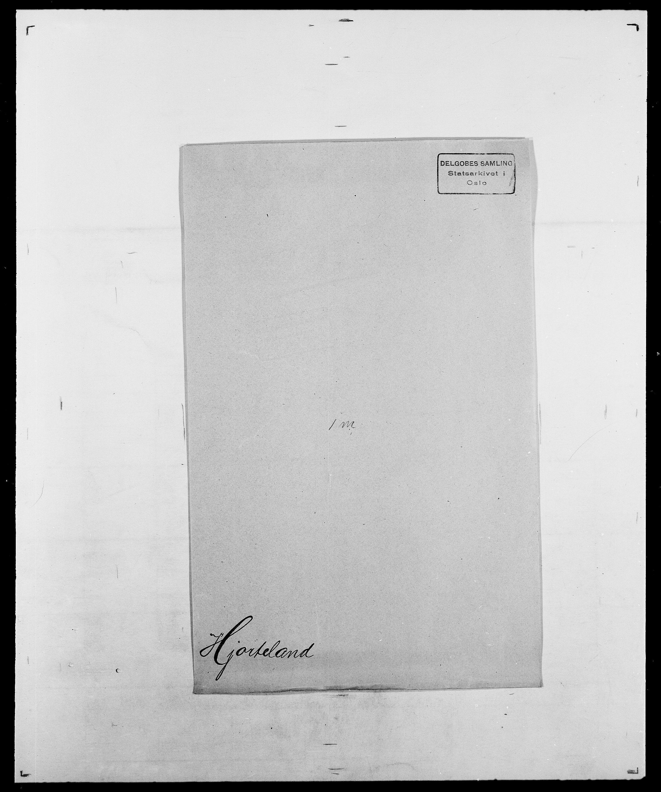 SAO, Delgobe, Charles Antoine - samling, D/Da/L0017: Helander - Hjørne, s. 643