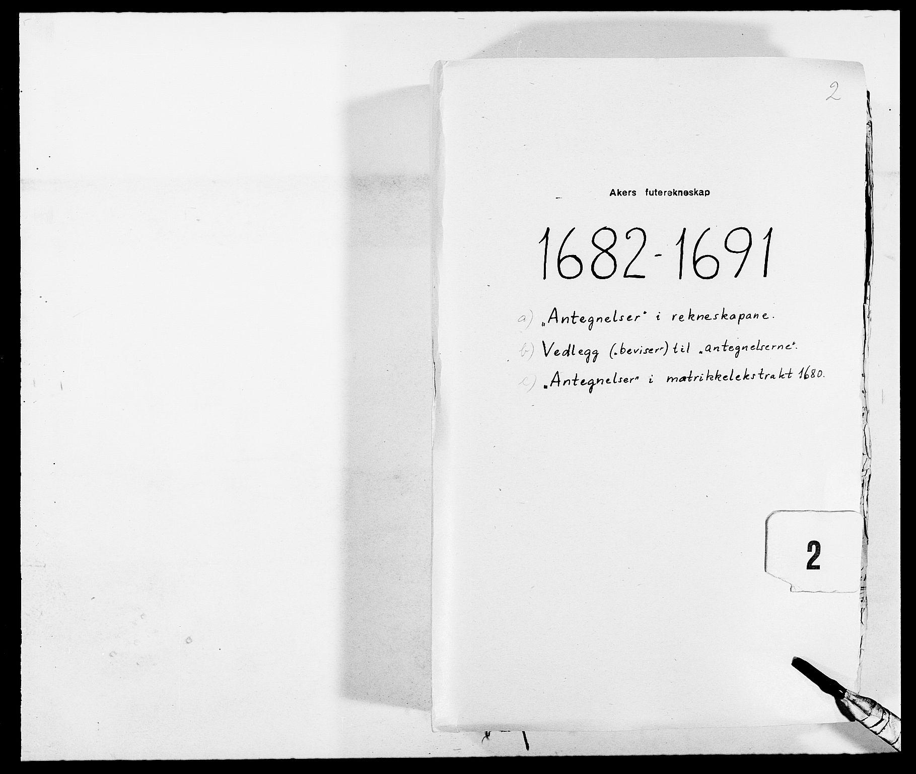 RA, Rentekammeret inntil 1814, Reviderte regnskaper, Fogderegnskap, R08/L0425: Fogderegnskap Aker, 1690-1691, s. 244