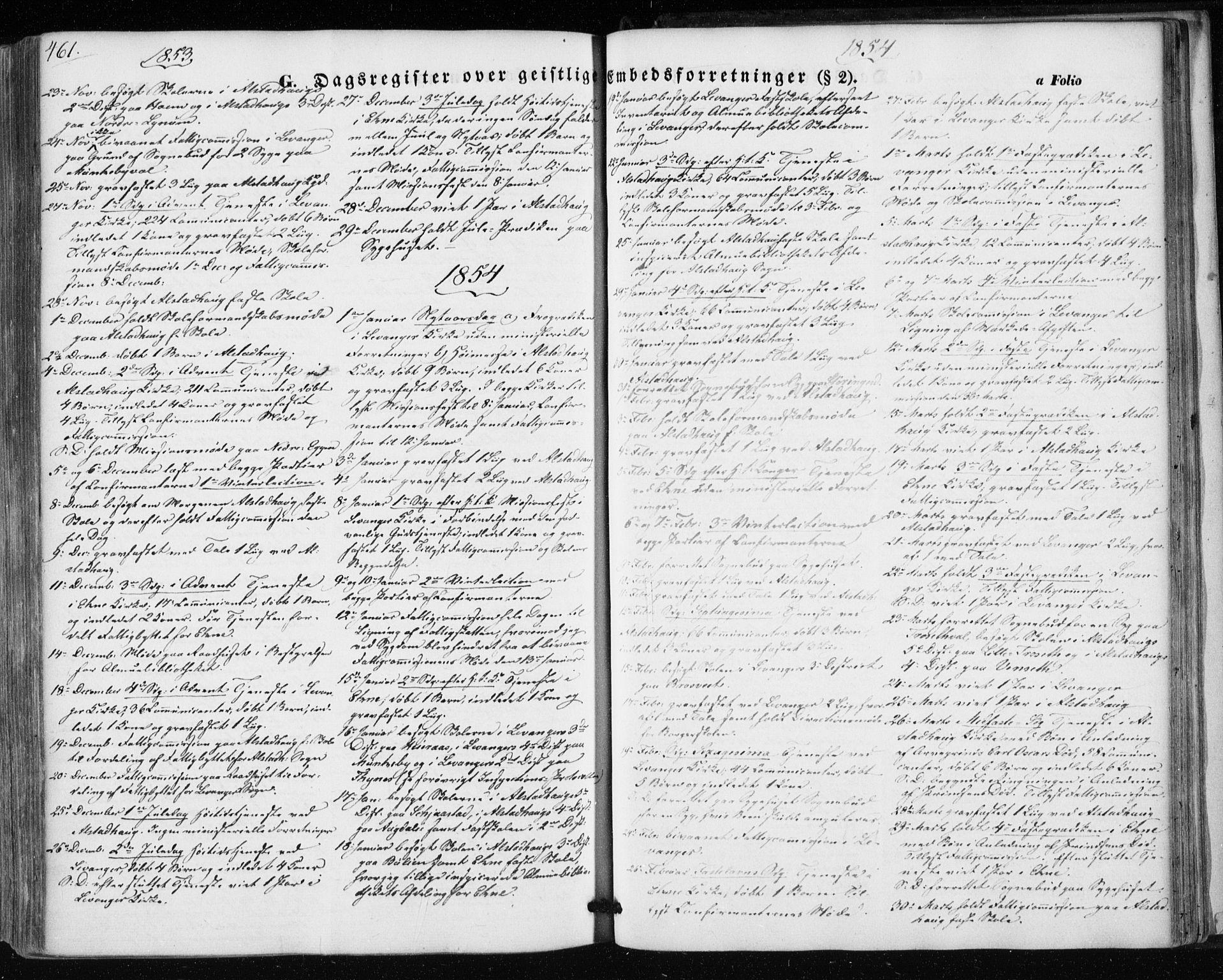 SAT, Ministerialprotokoller, klokkerbøker og fødselsregistre - Nord-Trøndelag, 717/L0154: Ministerialbok nr. 717A07 /1, 1850-1862, s. 461