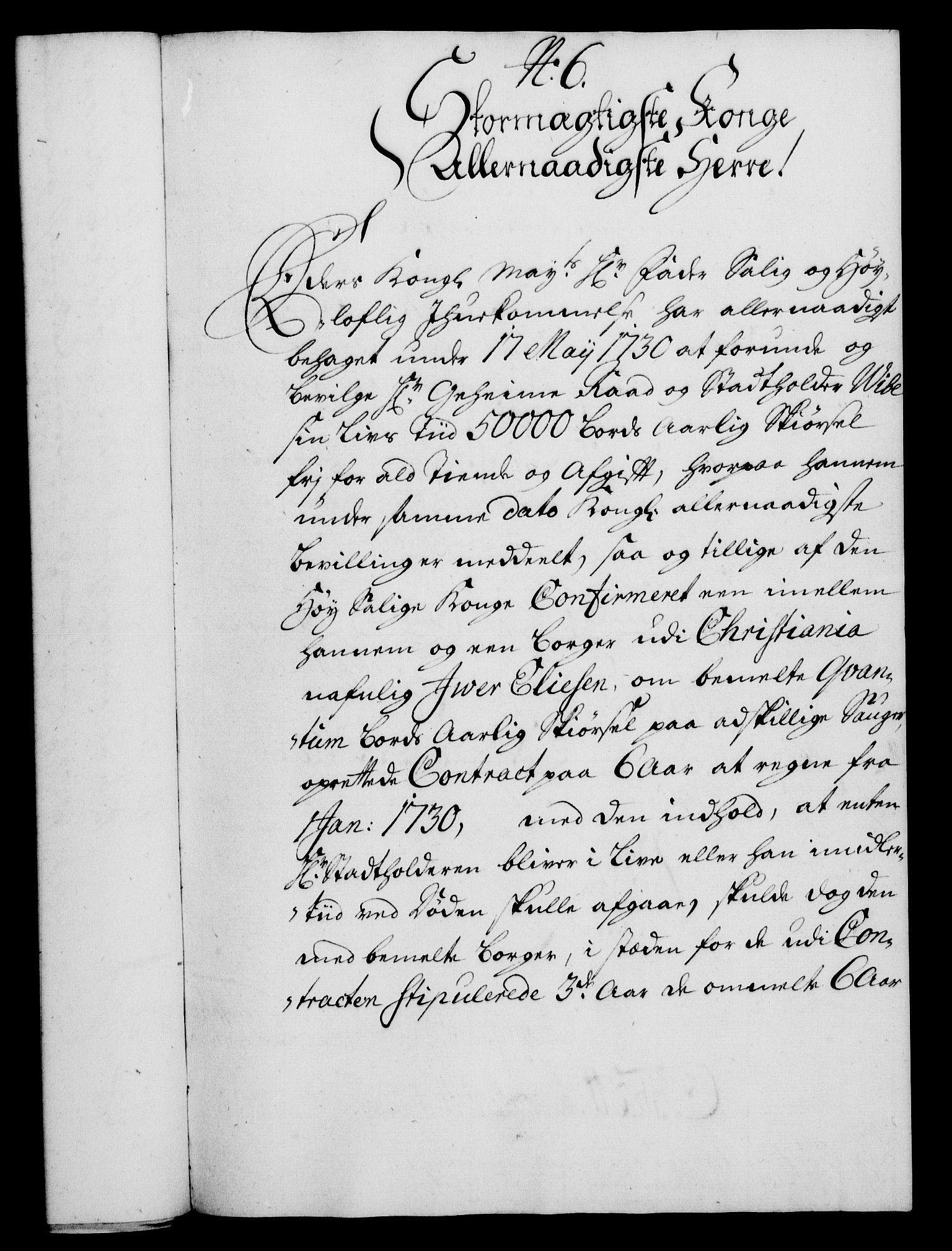 RA, Rentekammeret, Kammerkanselliet, G/Gf/Gfa/L0014: Norsk relasjons- og resolusjonsprotokoll (merket RK 52.14), 1731, s. 53