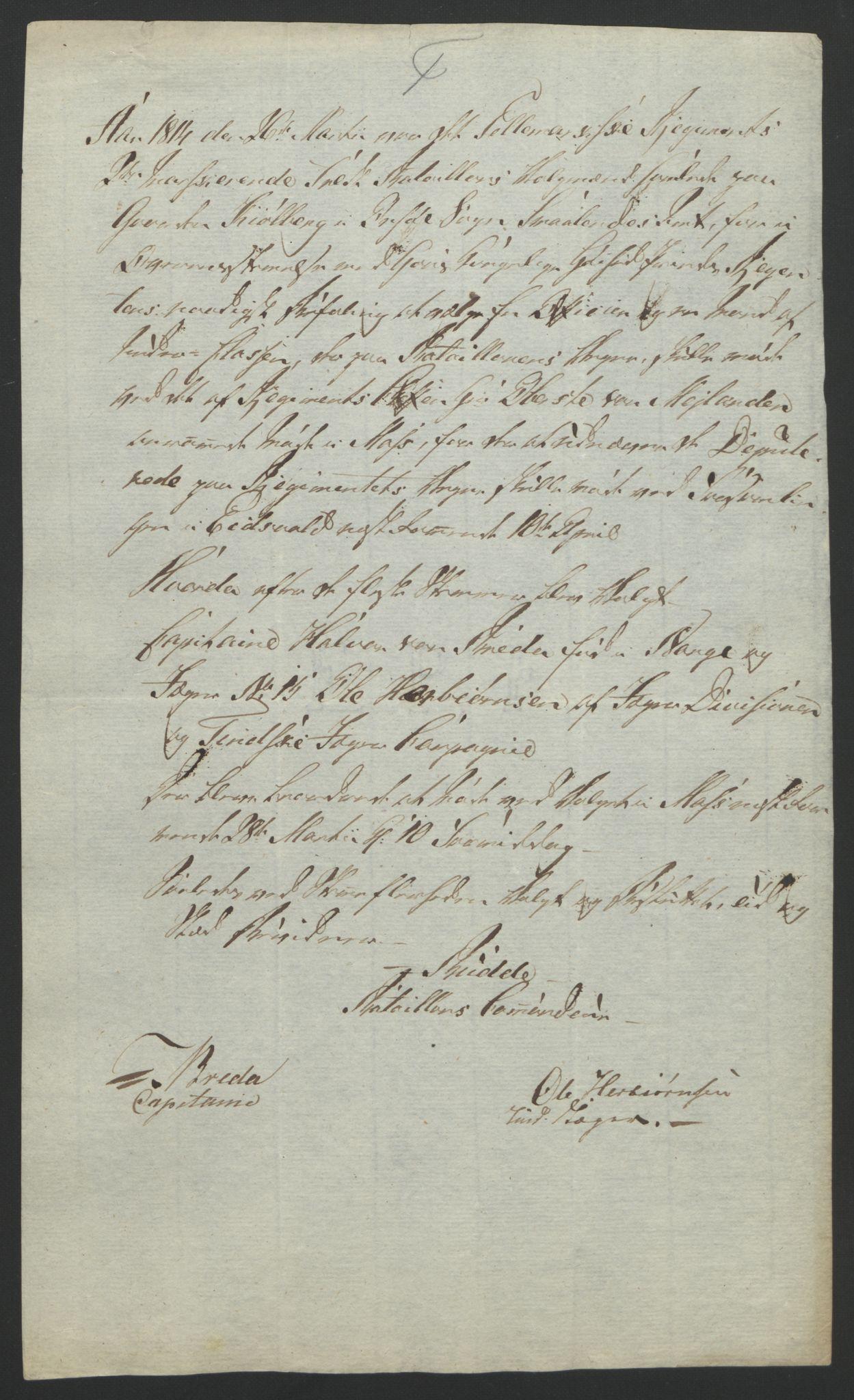 RA, Statsrådssekretariatet, D/Db/L0007: Fullmakter for Eidsvollsrepresentantene i 1814. , 1814, s. 110