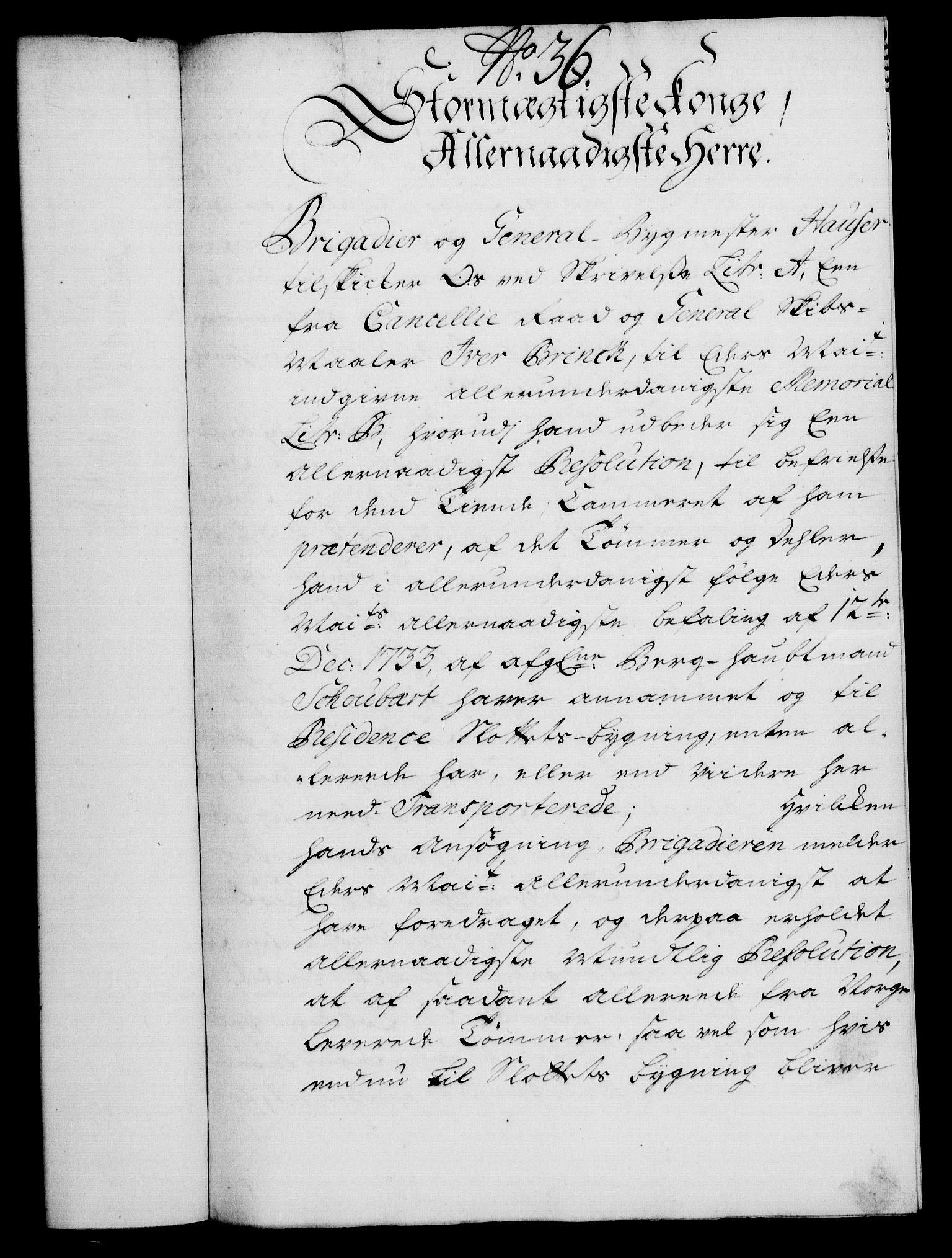 RA, Rentekammeret, Kammerkanselliet, G/Gf/Gfa/L0020: Norsk relasjons- og resolusjonsprotokoll (merket RK 52.20), 1737, s. 319