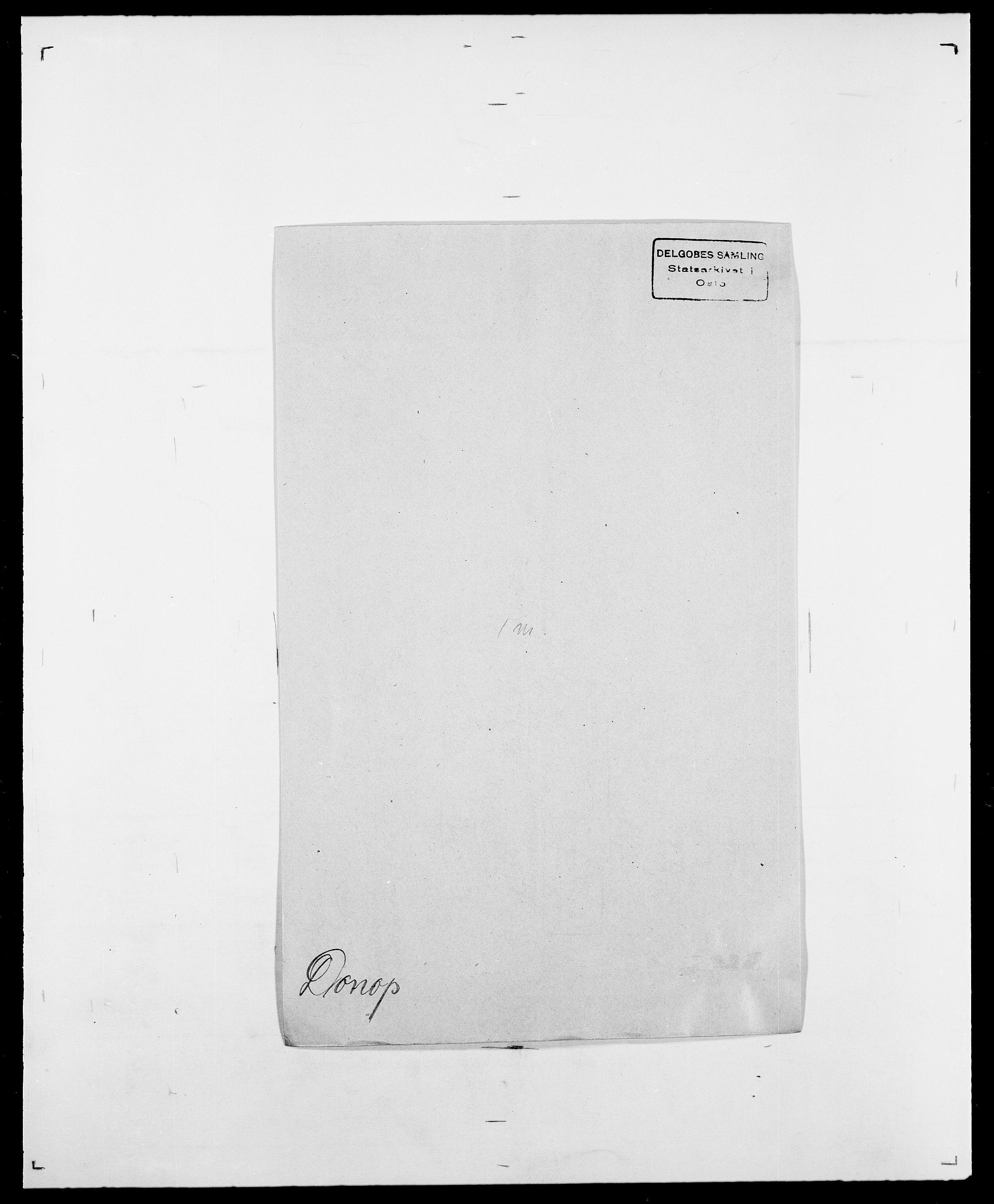 SAO, Delgobe, Charles Antoine - samling, D/Da/L0009: Dahl - v. Düren, s. 652
