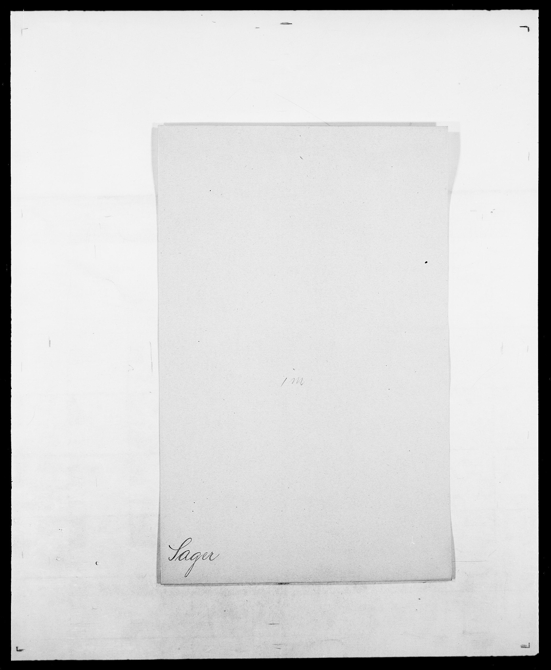 SAO, Delgobe, Charles Antoine - samling, D/Da/L0034: Saabye - Schmincke, s. 34
