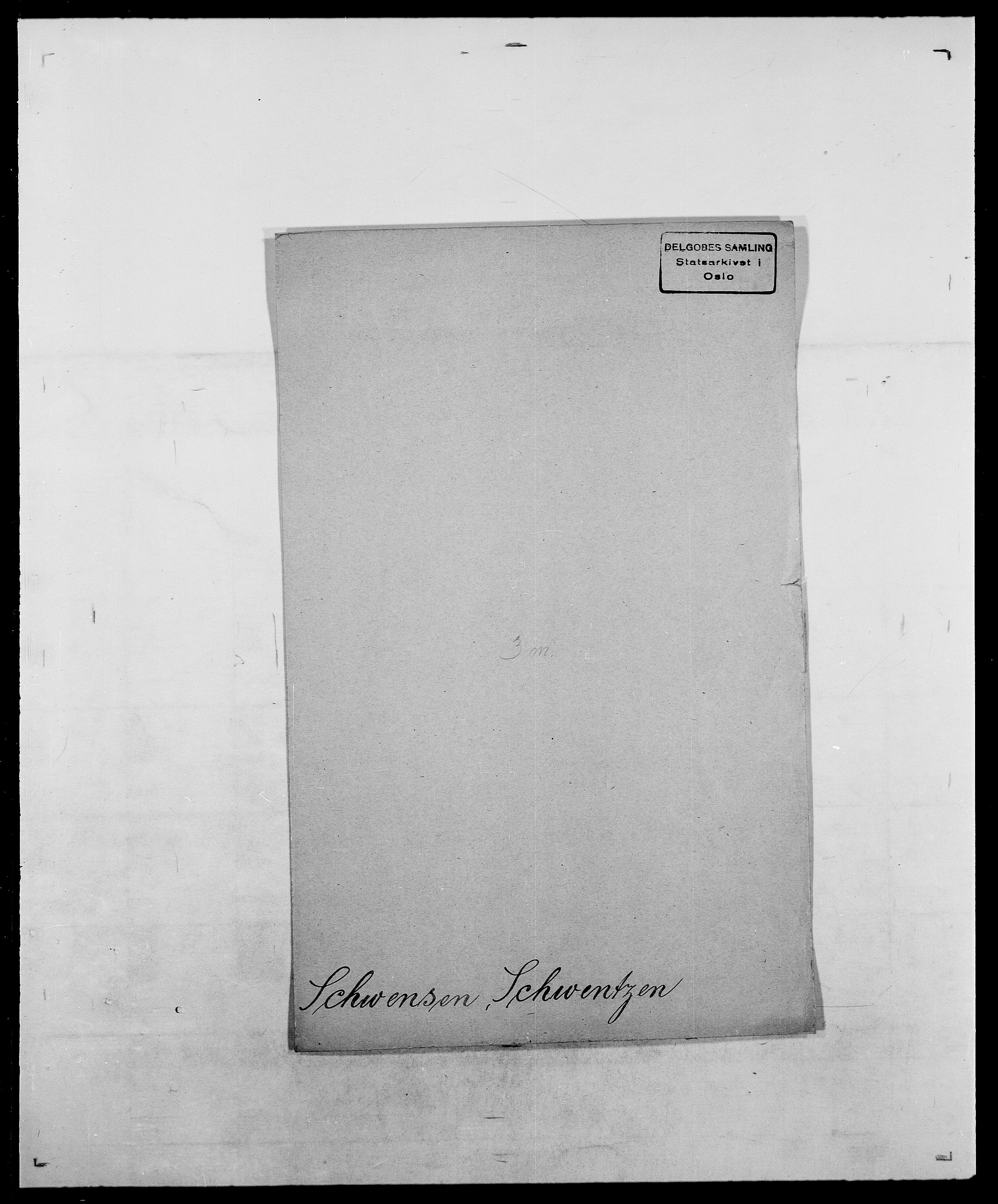 SAO, Delgobe, Charles Antoine - samling, D/Da/L0035: Schnabel - sjetman, s. 413