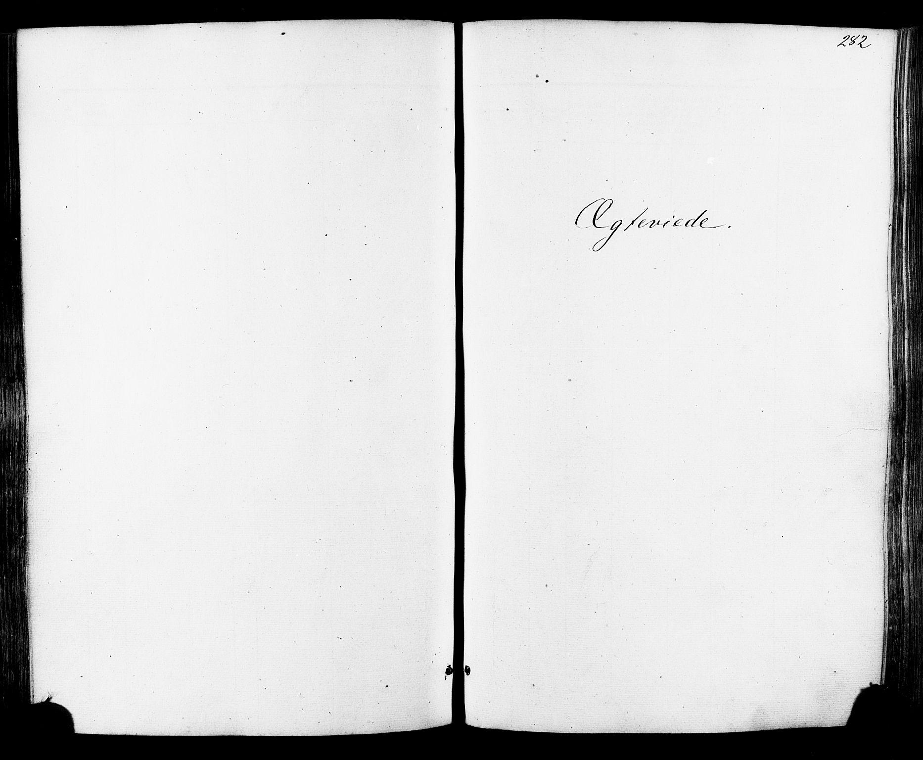 SAT, Ministerialprotokoller, klokkerbøker og fødselsregistre - Sør-Trøndelag, 681/L0932: Ministerialbok nr. 681A10, 1860-1878, s. 282