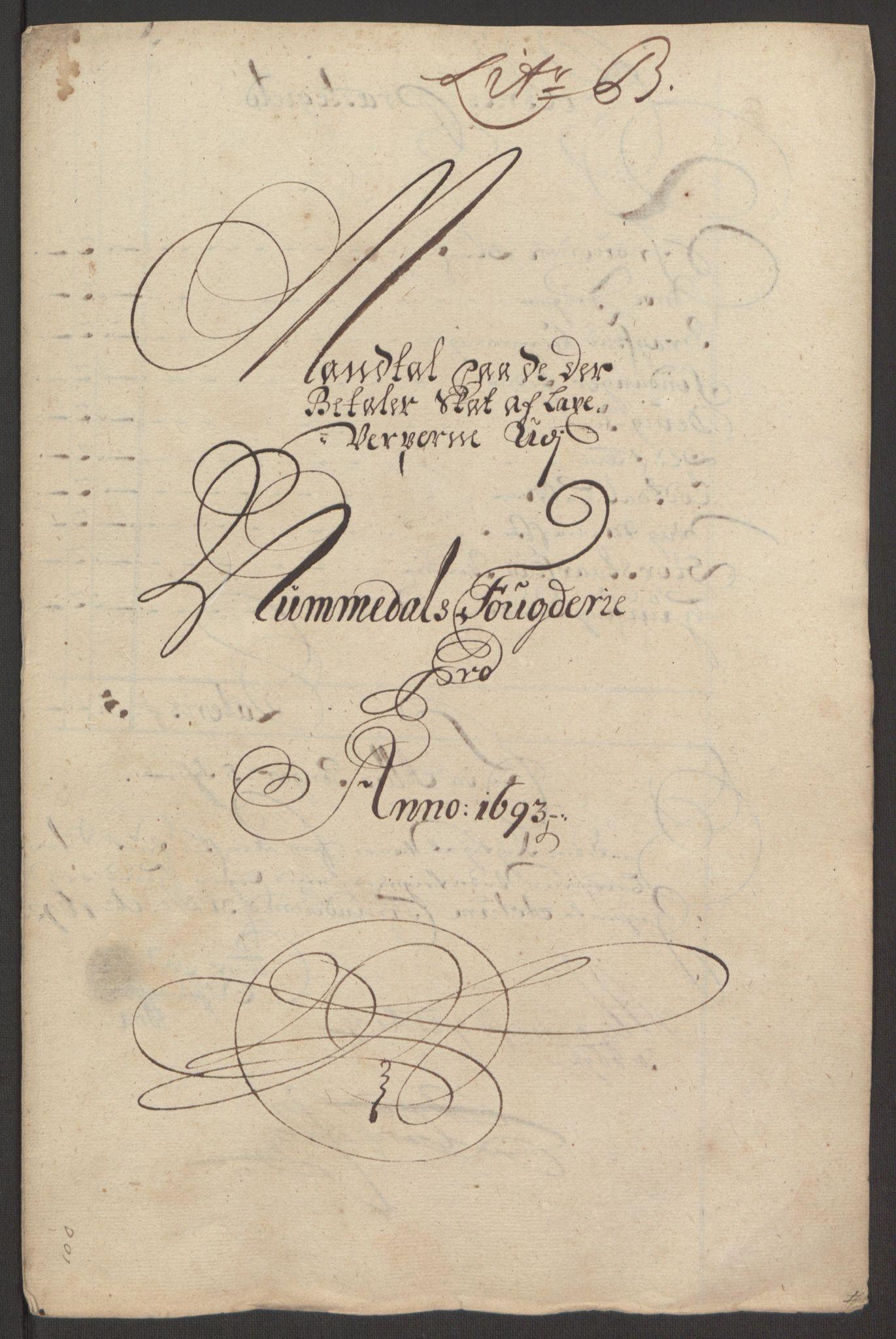 RA, Rentekammeret inntil 1814, Reviderte regnskaper, Fogderegnskap, R64/L4424: Fogderegnskap Namdal, 1692-1695, s. 240