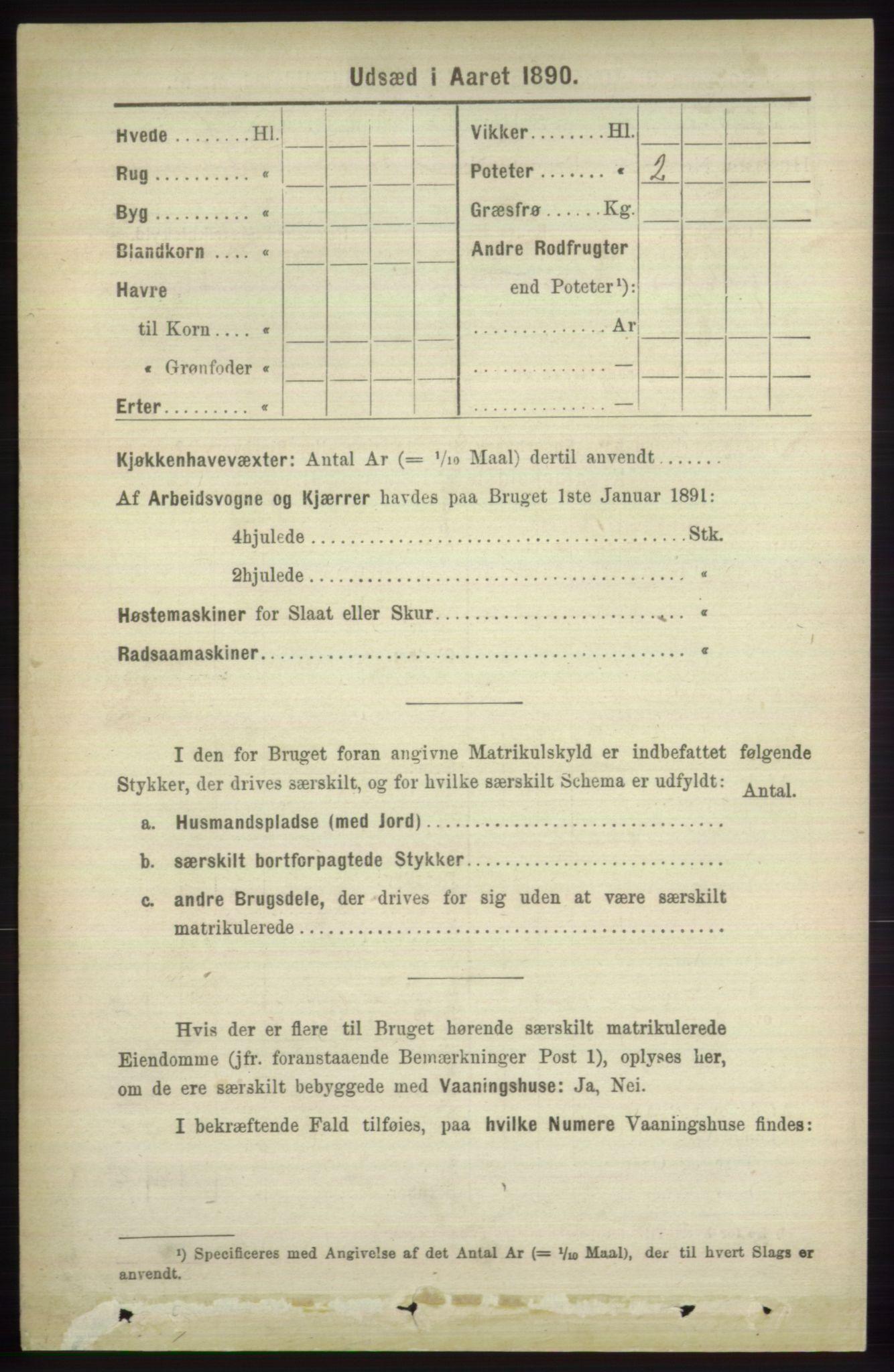RA, Folketelling 1891 for 1251 Bruvik herred, 1891, s. 4230