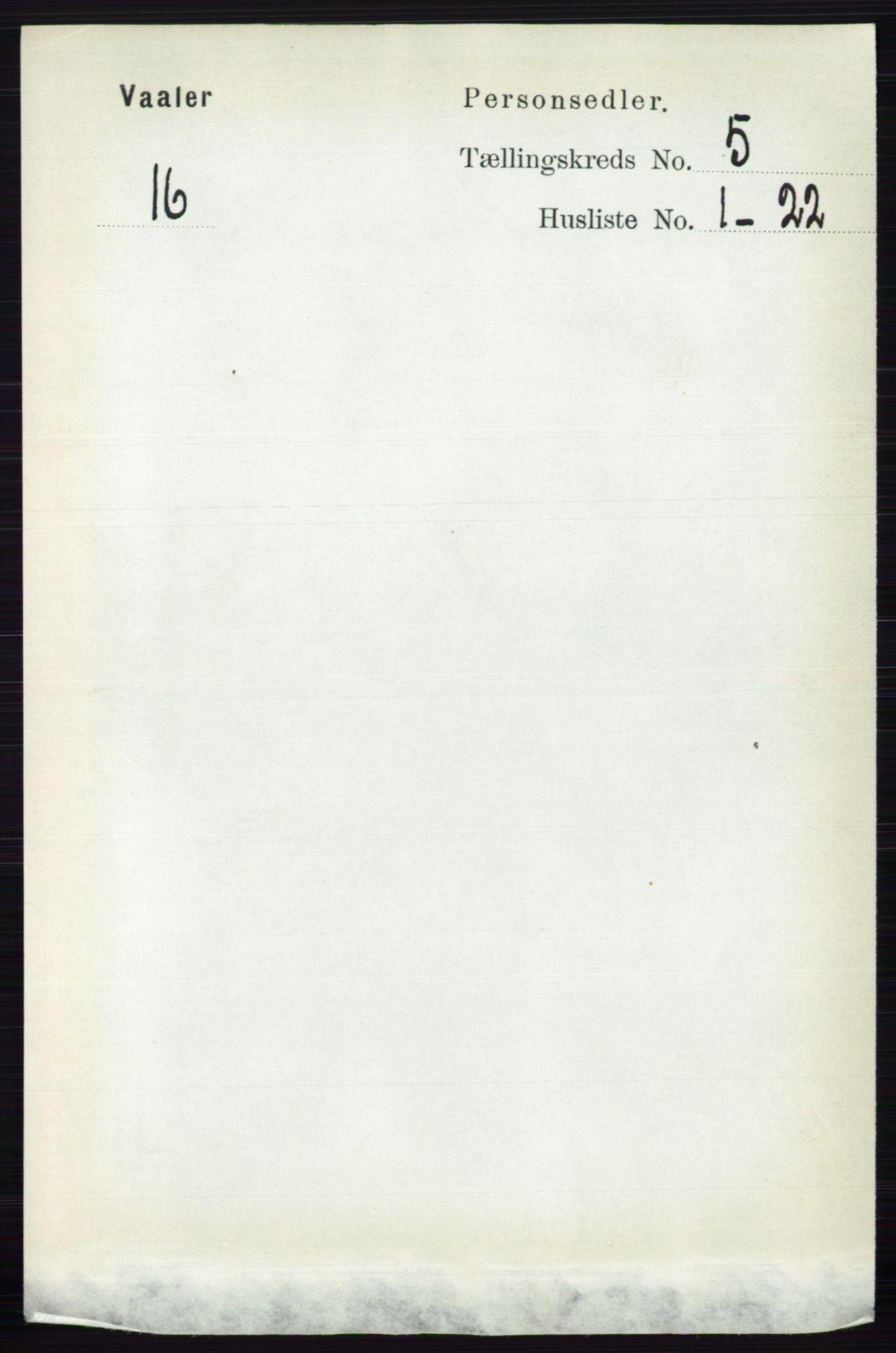 RA, Folketelling 1891 for 0137 Våler herred, 1891, s. 1977