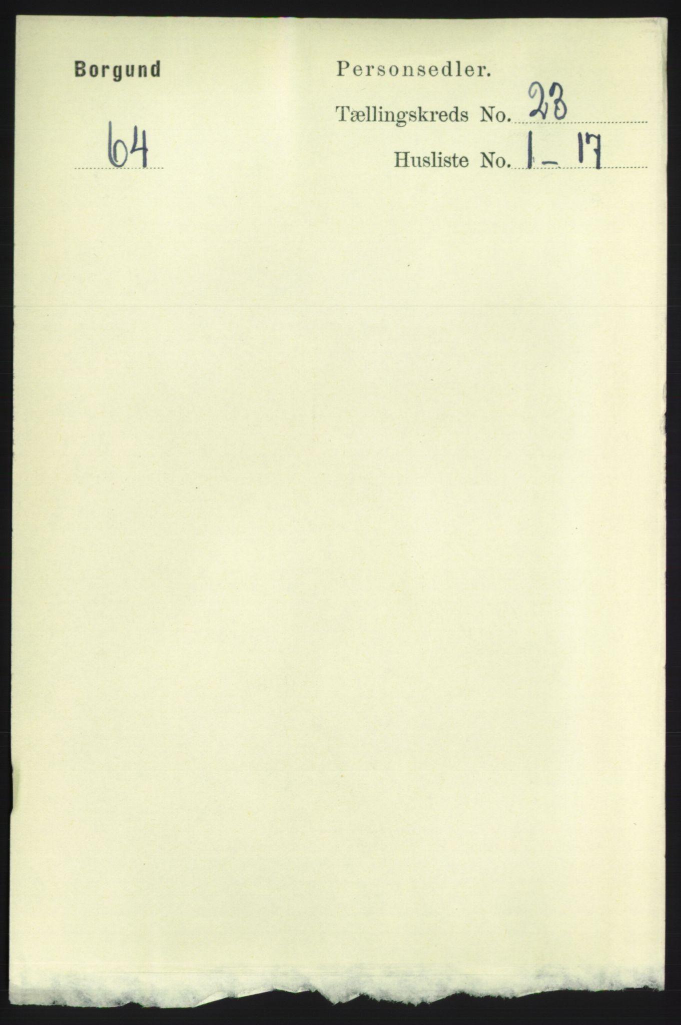 RA, Folketelling 1891 for 1531 Borgund herred, 1891, s. 6963
