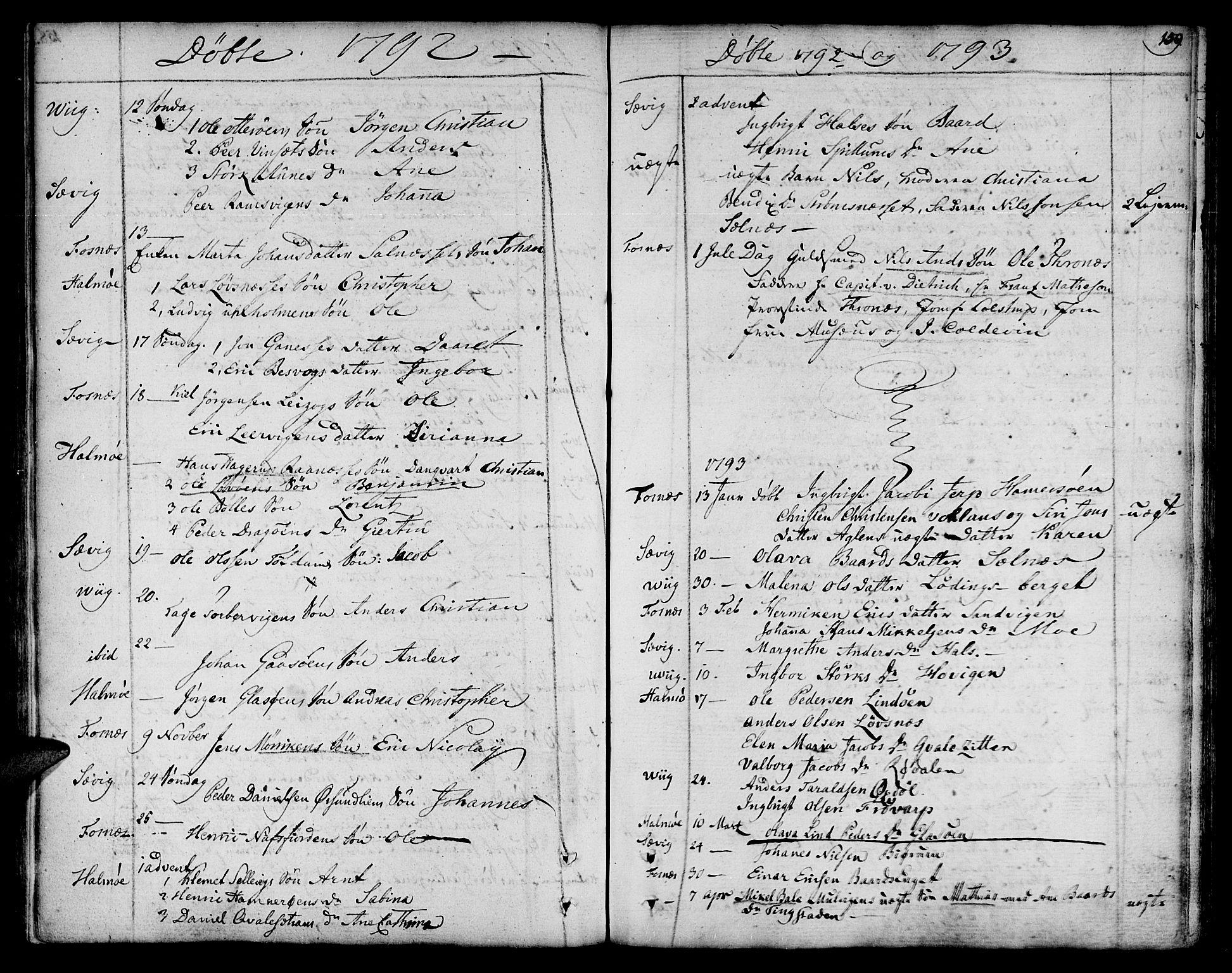 SAT, Ministerialprotokoller, klokkerbøker og fødselsregistre - Nord-Trøndelag, 773/L0608: Ministerialbok nr. 773A02, 1784-1816, s. 159