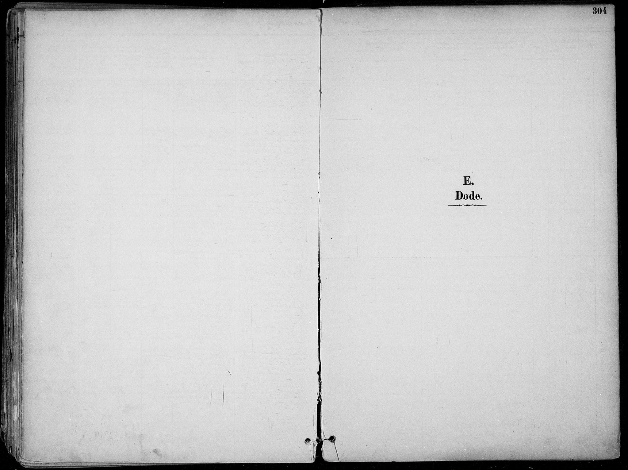 SAKO, Skien kirkebøker, F/Fa/L0010: Ministerialbok nr. 10, 1891-1899, s. 304