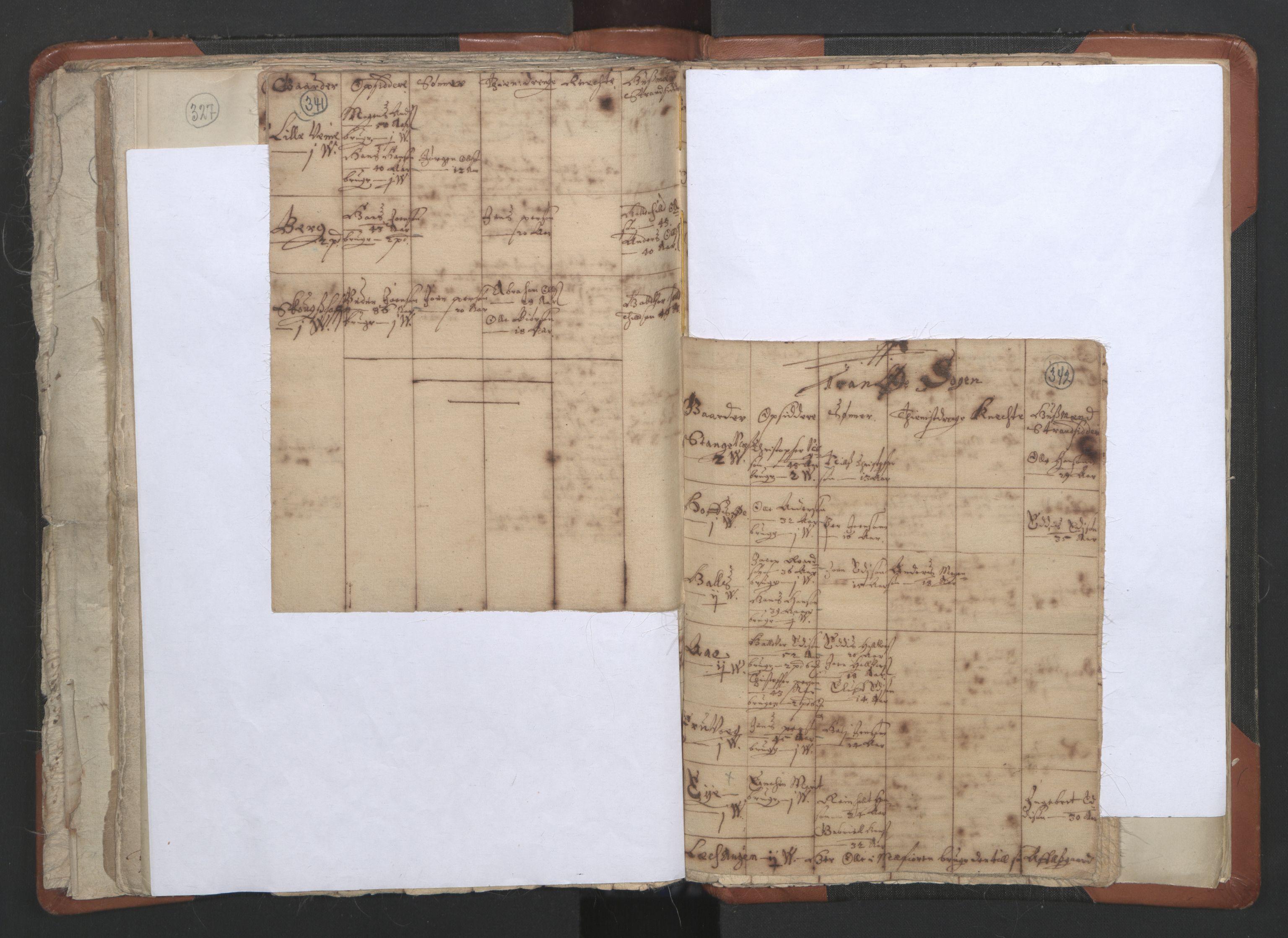 RA, Sogneprestenes manntall 1664-1666, nr. 36: Lofoten og Vesterålen prosti, Senja prosti og Troms prosti, 1664-1666, s. 341-342