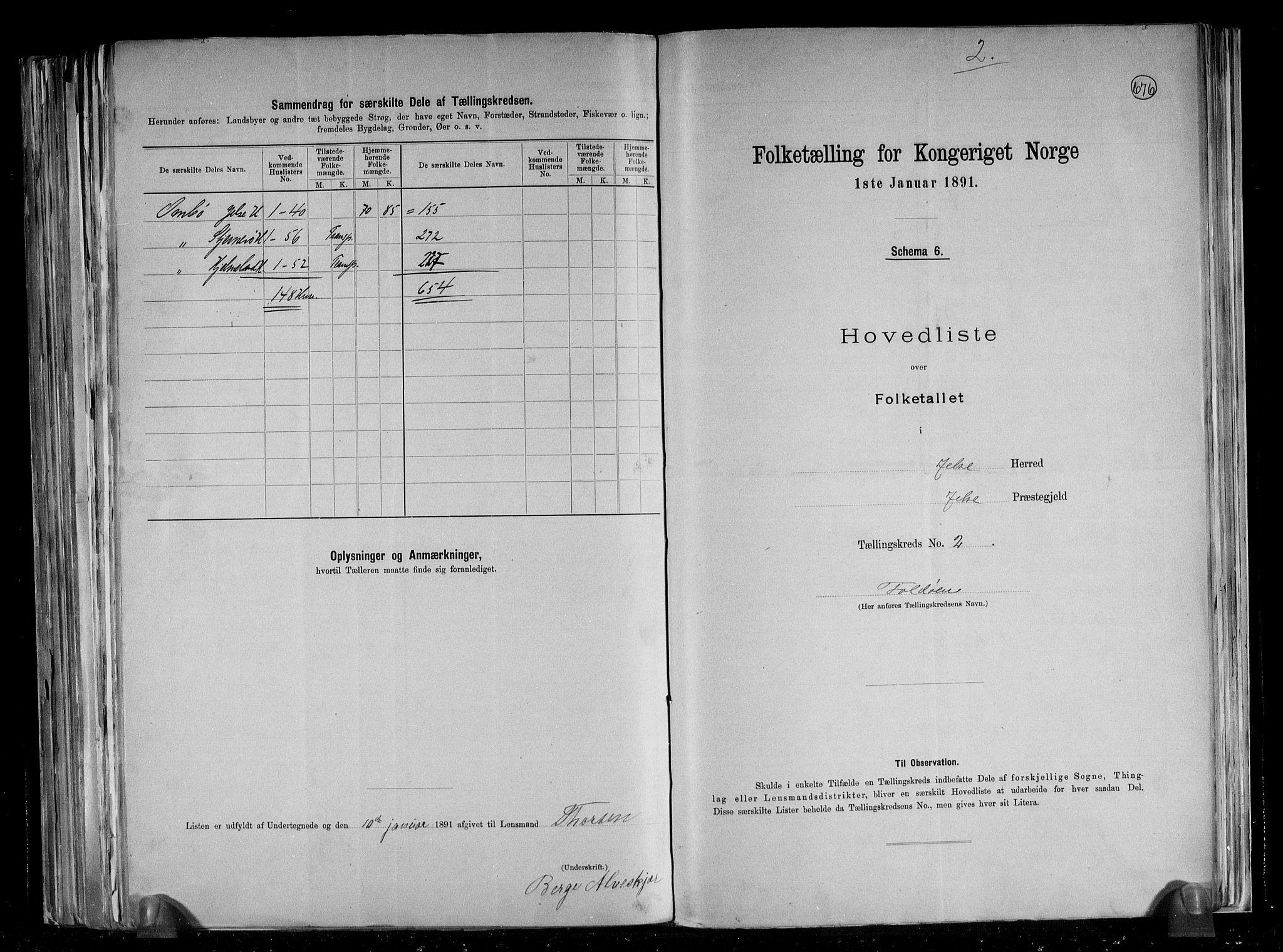 RA, Folketelling 1891 for 1138 Jelsa herred, 1891, s. 7