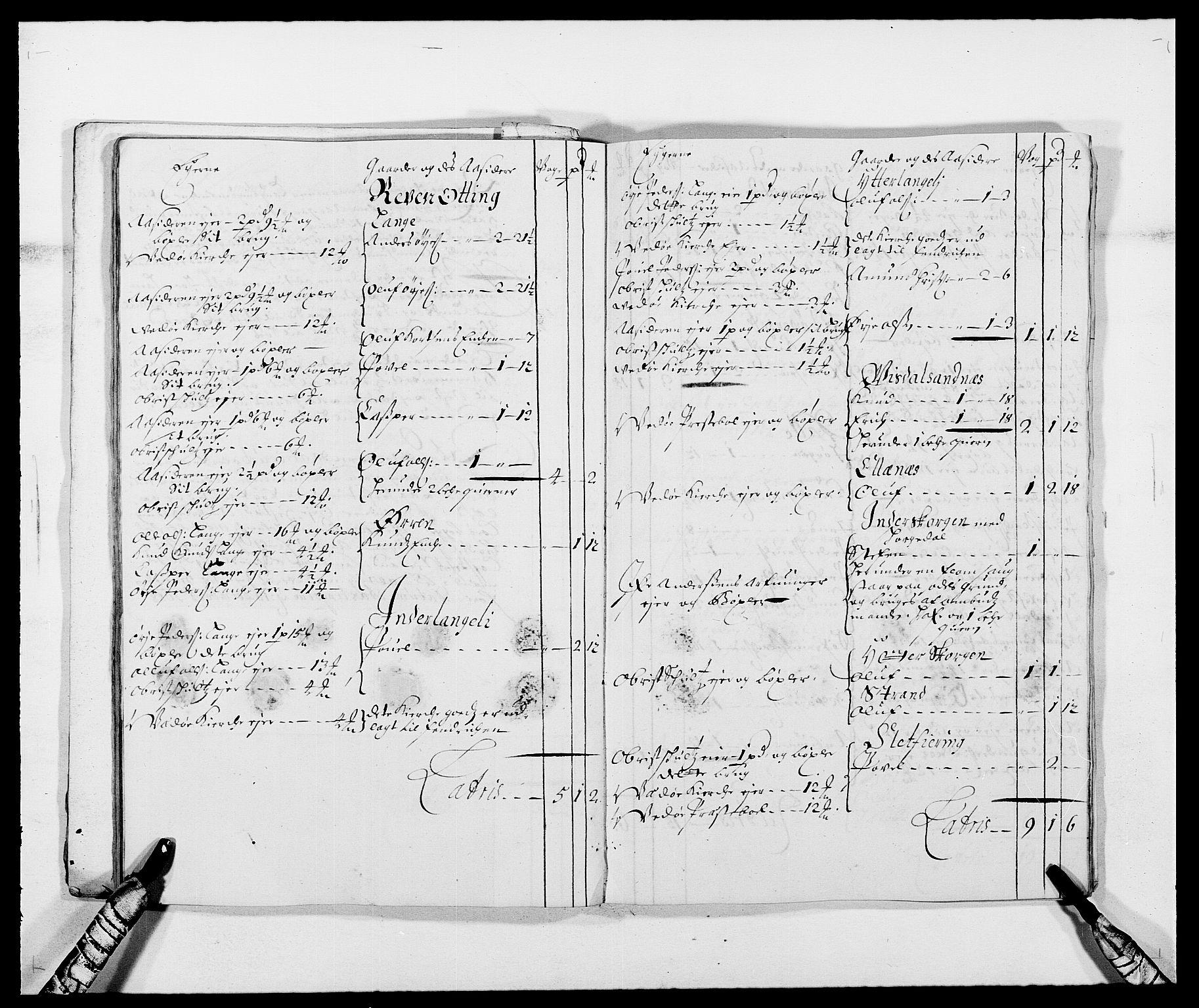 RA, Rentekammeret inntil 1814, Reviderte regnskaper, Fogderegnskap, R55/L3648: Fogderegnskap Romsdal, 1687-1689, s. 182
