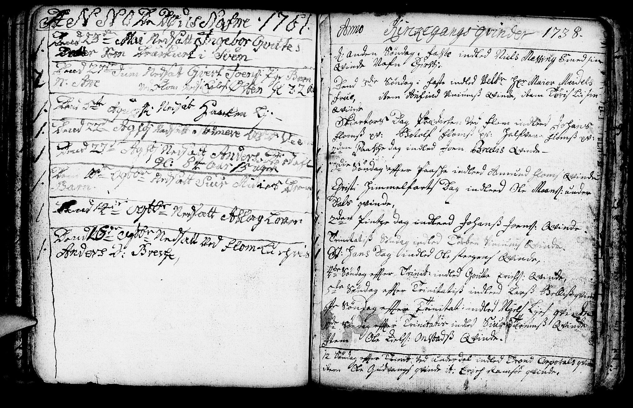 SAB, Aurland Sokneprestembete*, Ministerialbok nr. A 3, 1735-1761, s. 136