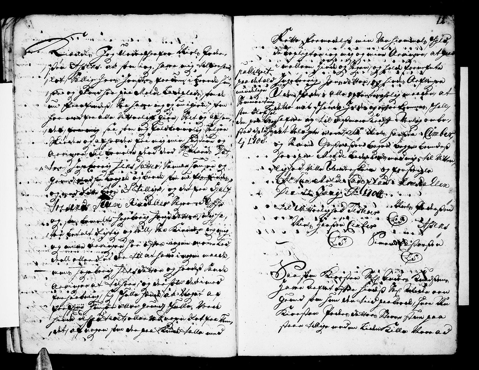 SAT, Romsdal sorenskriveri, 2/2C/L0001: Pantebok nr. 1, 1706-1724, s. 14