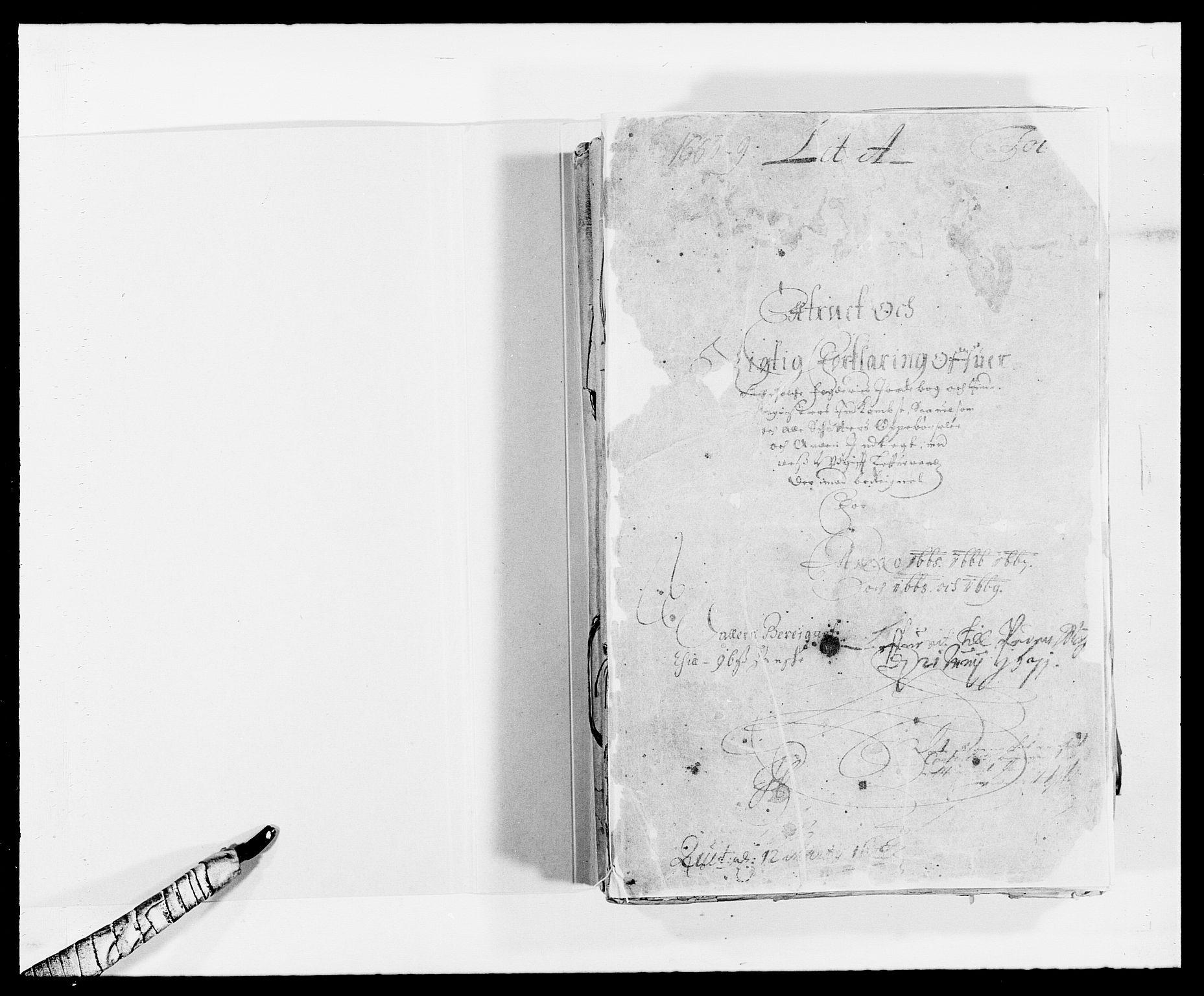 RA, Rentekammeret inntil 1814, Reviderte regnskaper, Fogderegnskap, R47/L2839: Fogderegnskap Ryfylke, 1665-1669, s. 2