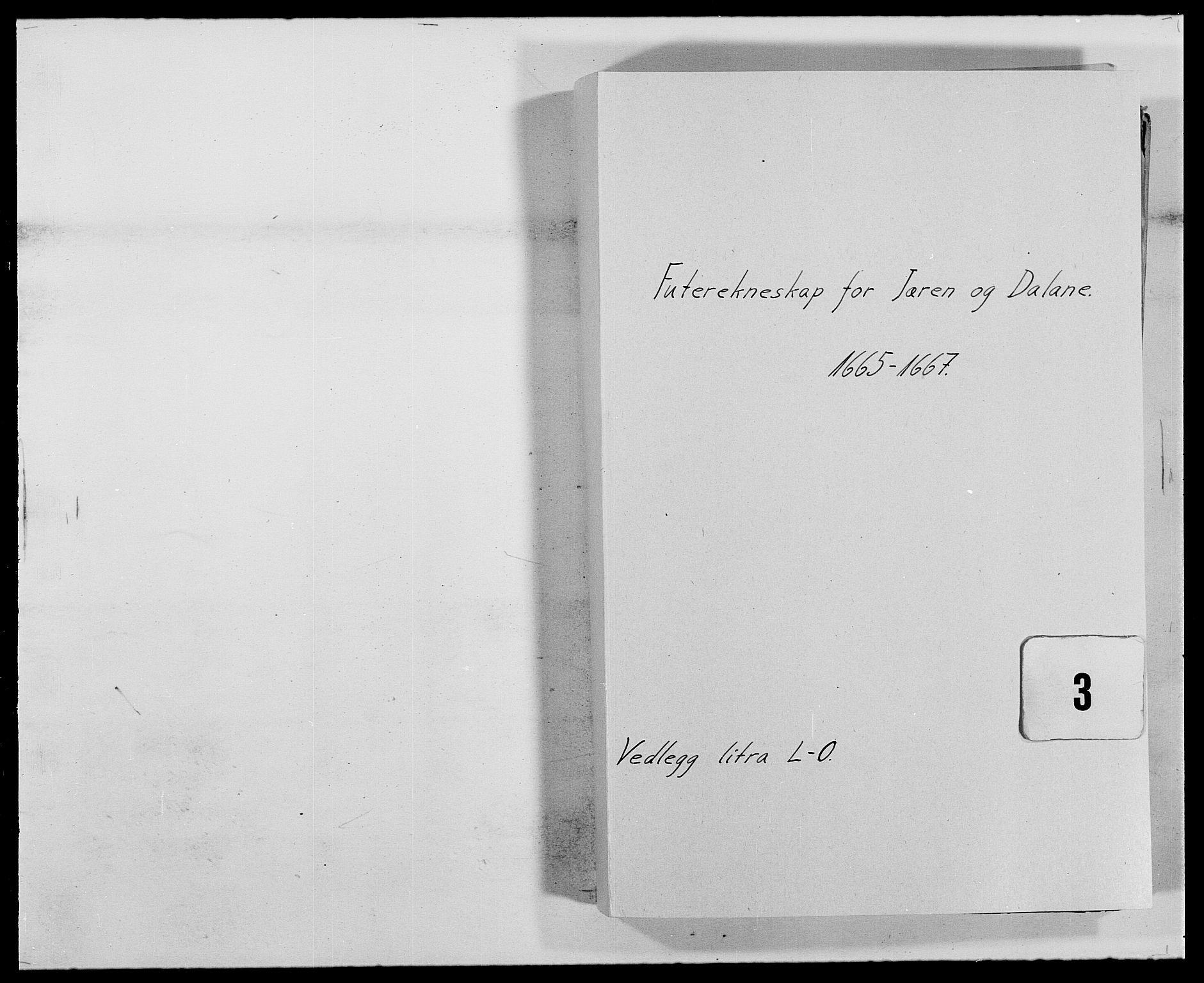 RA, Rentekammeret inntil 1814, Reviderte regnskaper, Fogderegnskap, R46/L2710: Fogderegnskap Jæren og Dalane, 1667, s. 1