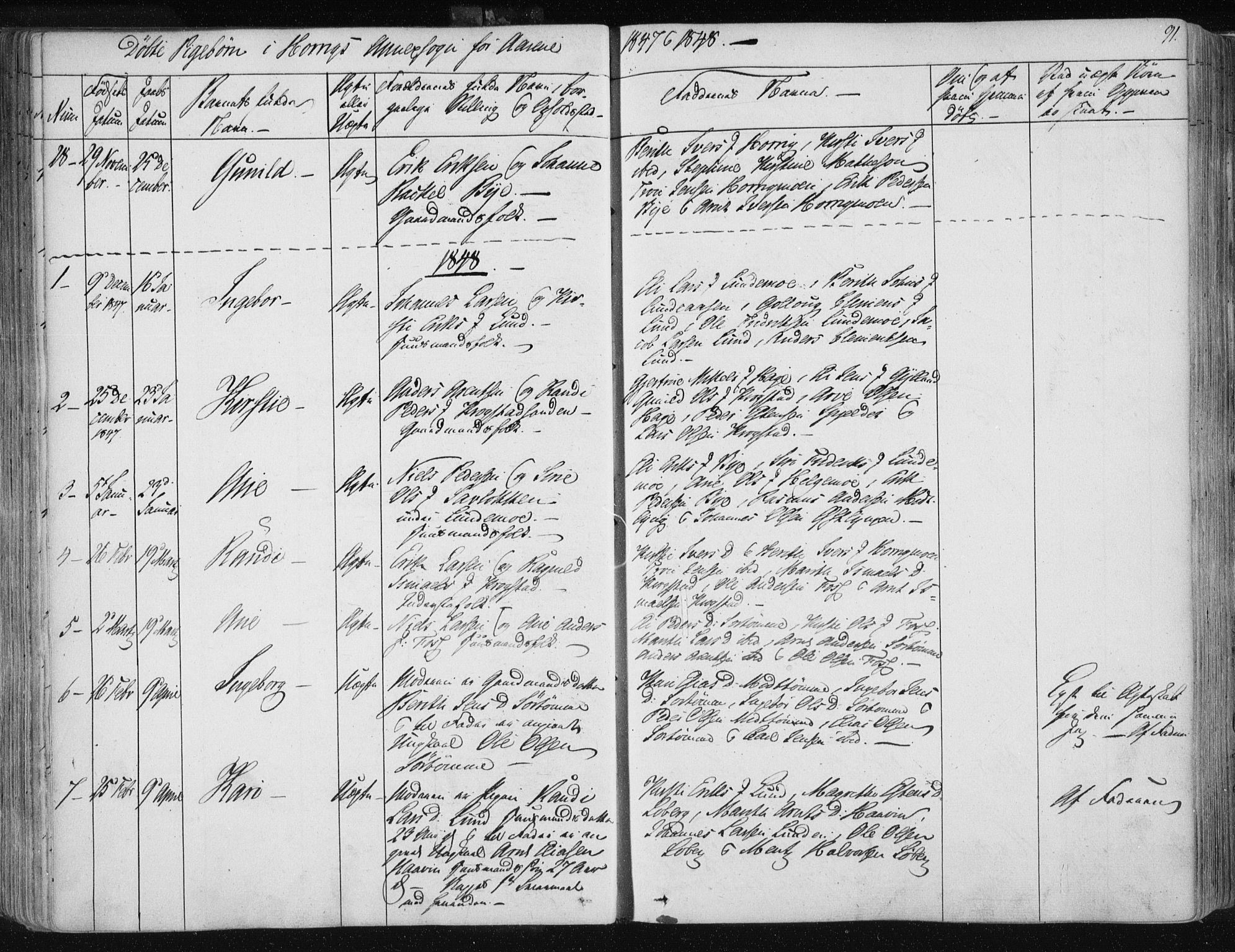 SAT, Ministerialprotokoller, klokkerbøker og fødselsregistre - Sør-Trøndelag, 687/L0998: Ministerialbok nr. 687A05 /2, 1843-1849, s. 91