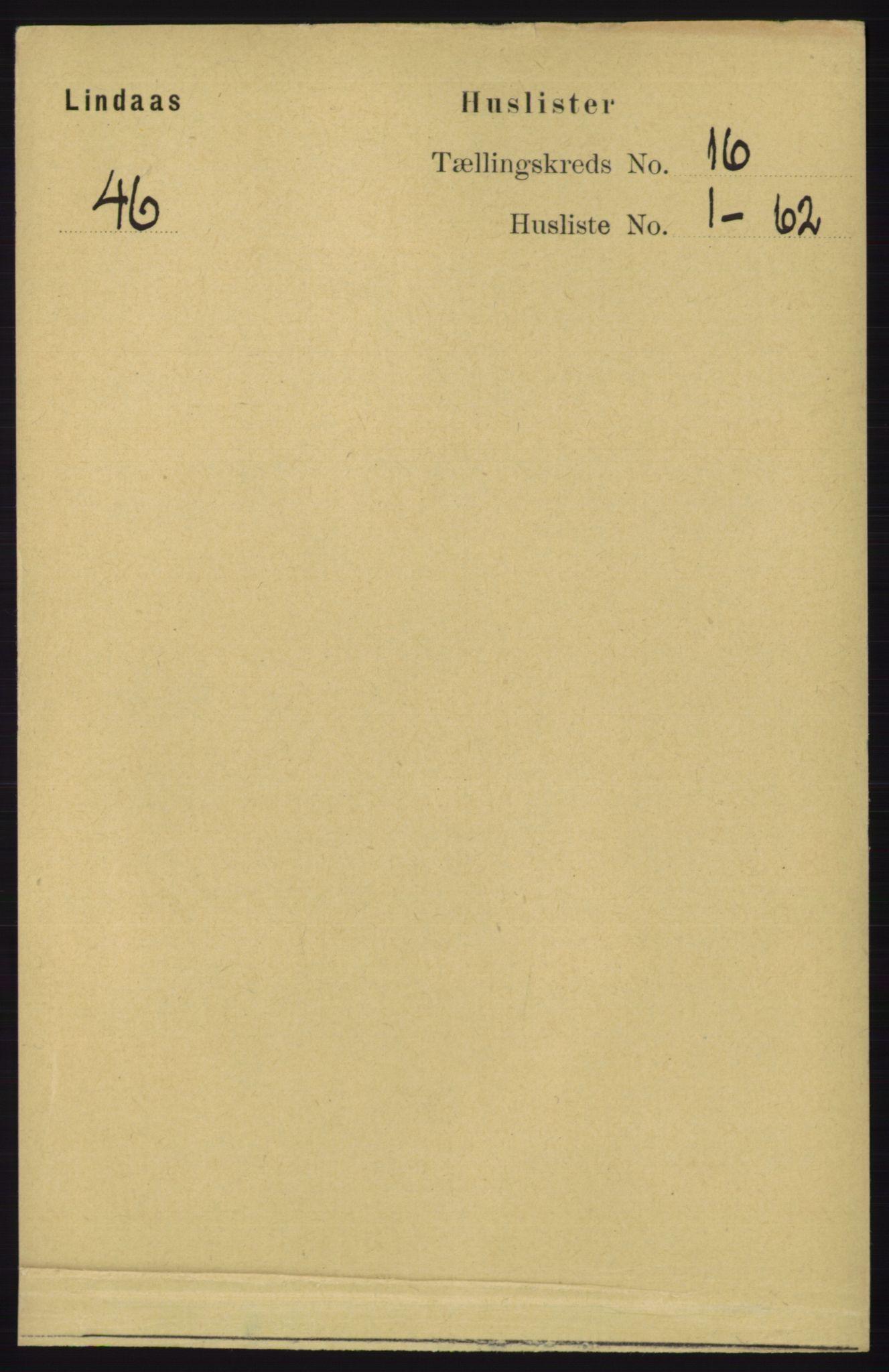 RA, Folketelling 1891 for 1263 Lindås herred, 1891, s. 5640