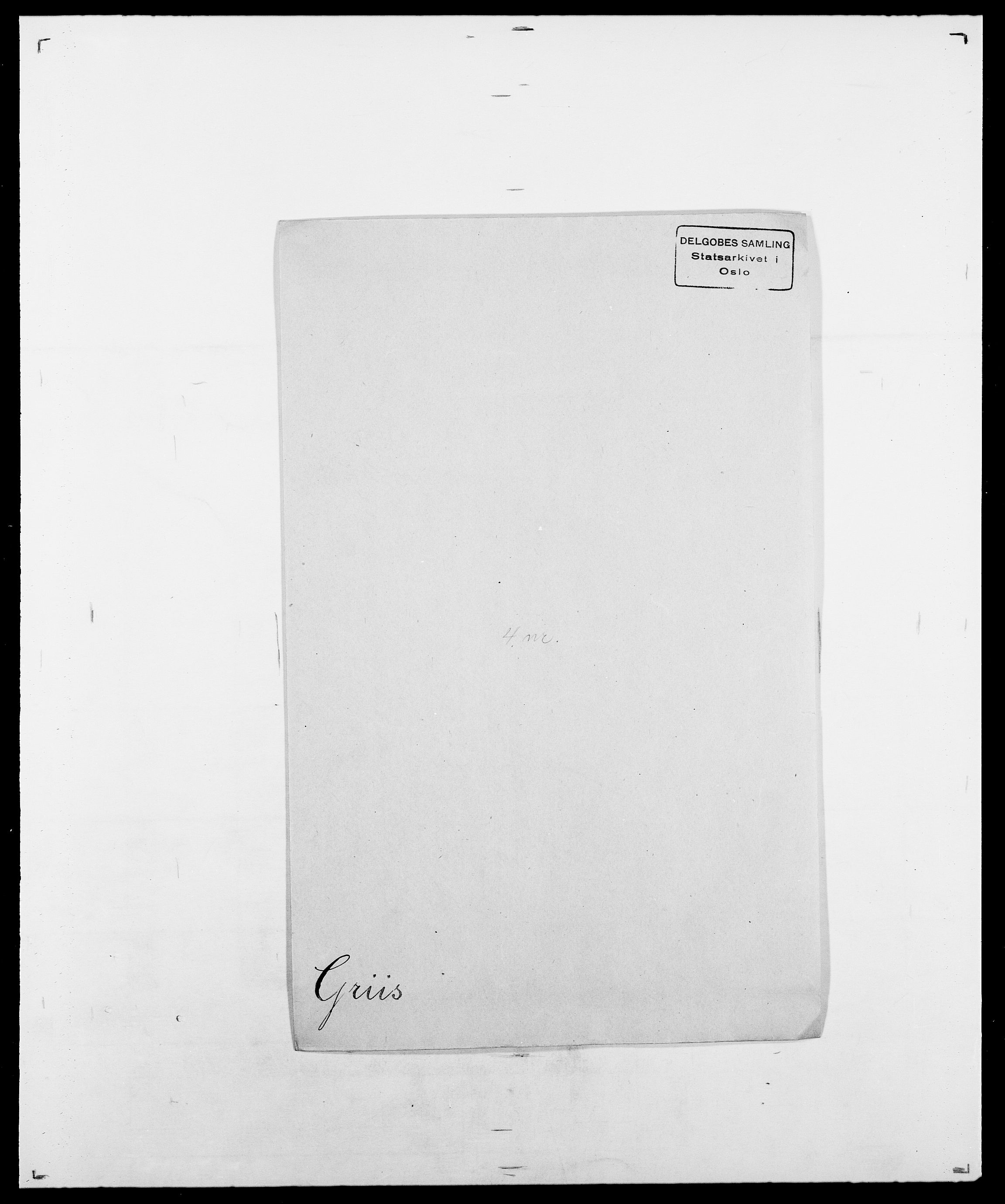 SAO, Delgobe, Charles Antoine - samling, D/Da/L0014: Giebdhausen - Grip, s. 651