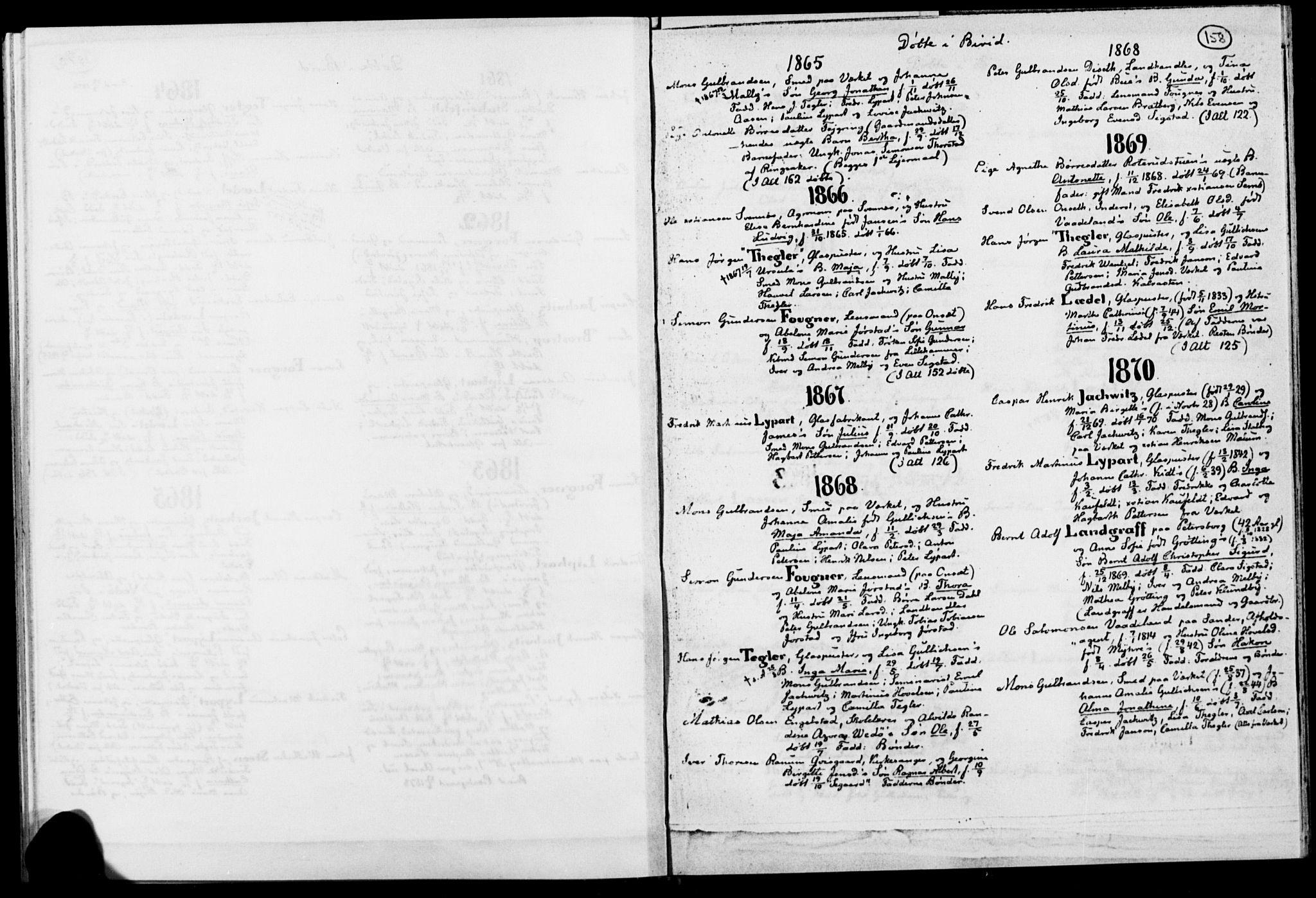 SAH, Biri prestekontor, Ministerialbok, 1730-1879, s. 158
