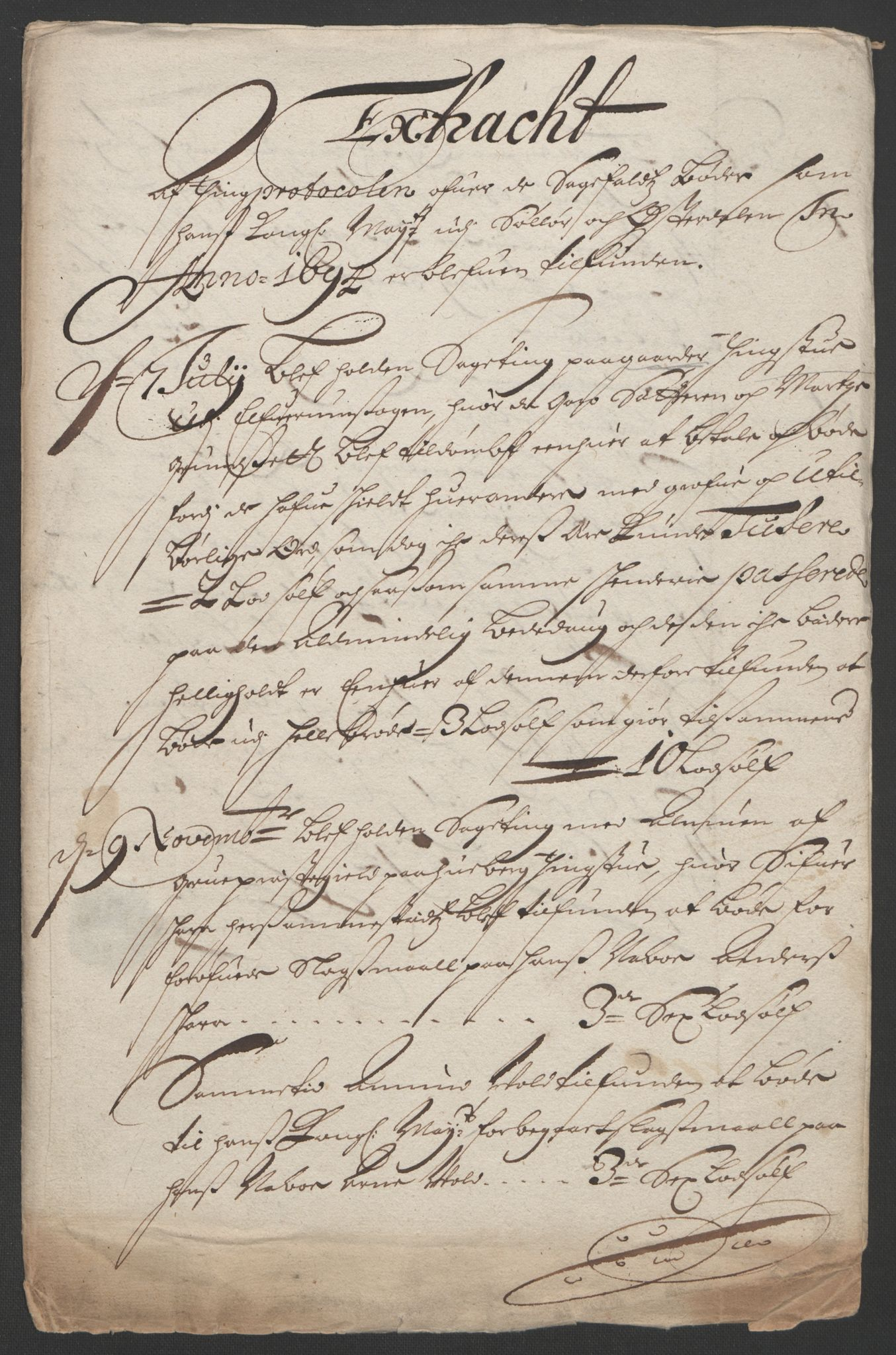 RA, Rentekammeret inntil 1814, Reviderte regnskaper, Fogderegnskap, R13/L0832: Fogderegnskap Solør, Odal og Østerdal, 1694, s. 126