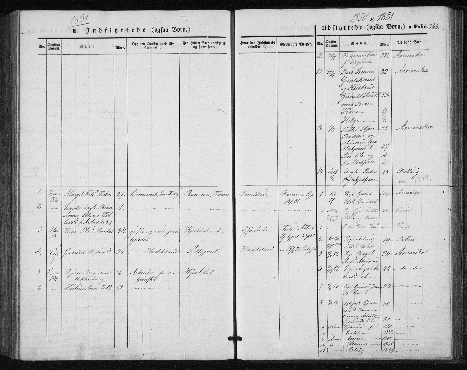 SAKO, Tinn kirkebøker, F/Fa/L0005: Ministerialbok nr. I 5, 1844-1856, s. 366