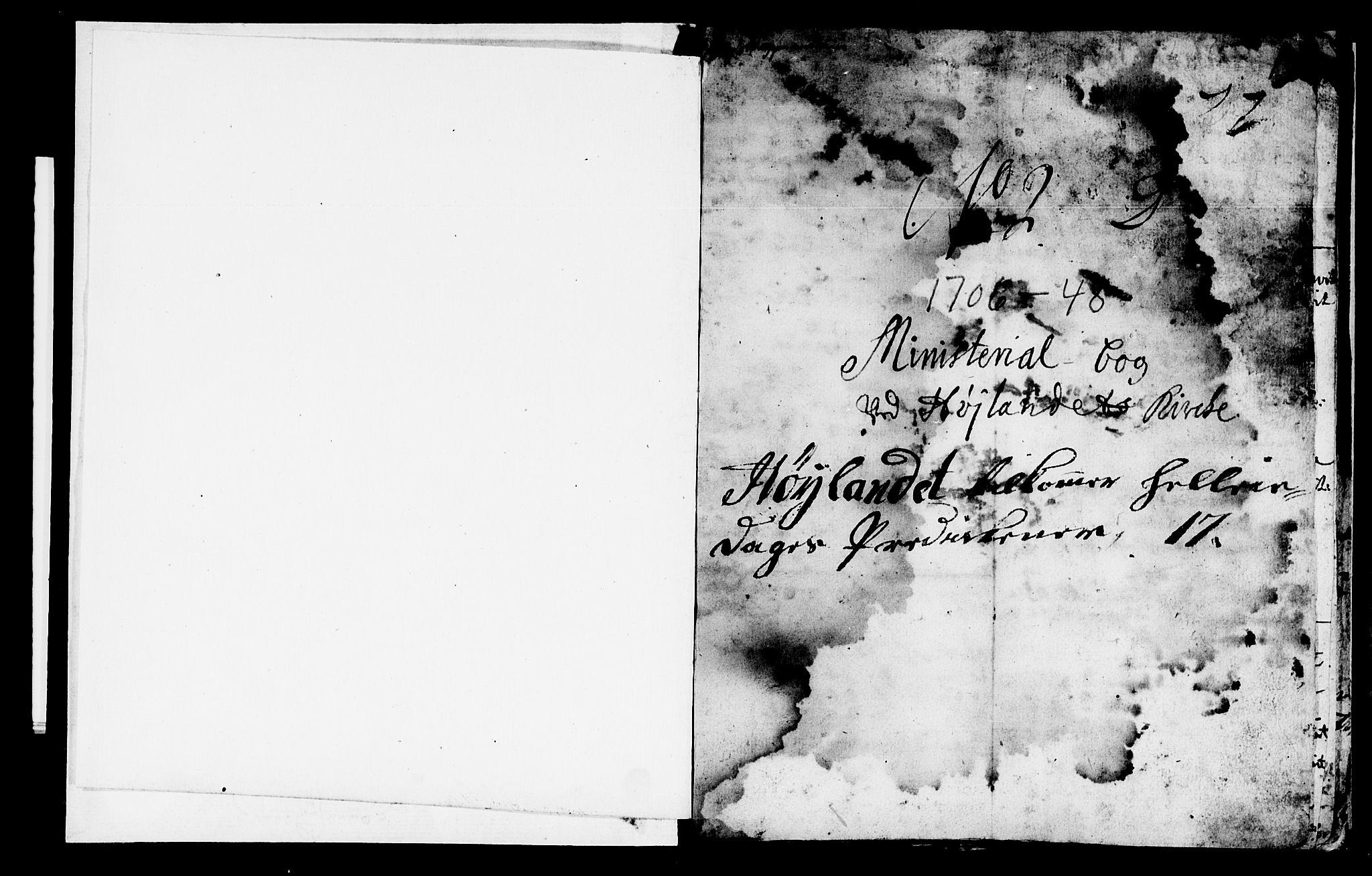 SAT, Ministerialprotokoller, klokkerbøker og fødselsregistre - Nord-Trøndelag, 765/L0560: Ministerialbok nr. 765A01, 1706-1748