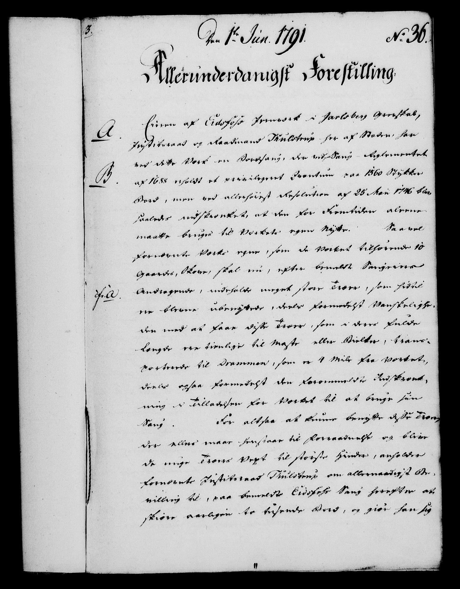 RA, Rentekammeret, Kammerkanselliet, G/Gf/Gfa/L0073: Norsk relasjons- og resolusjonsprotokoll (merket RK 52.73), 1791, s. 195