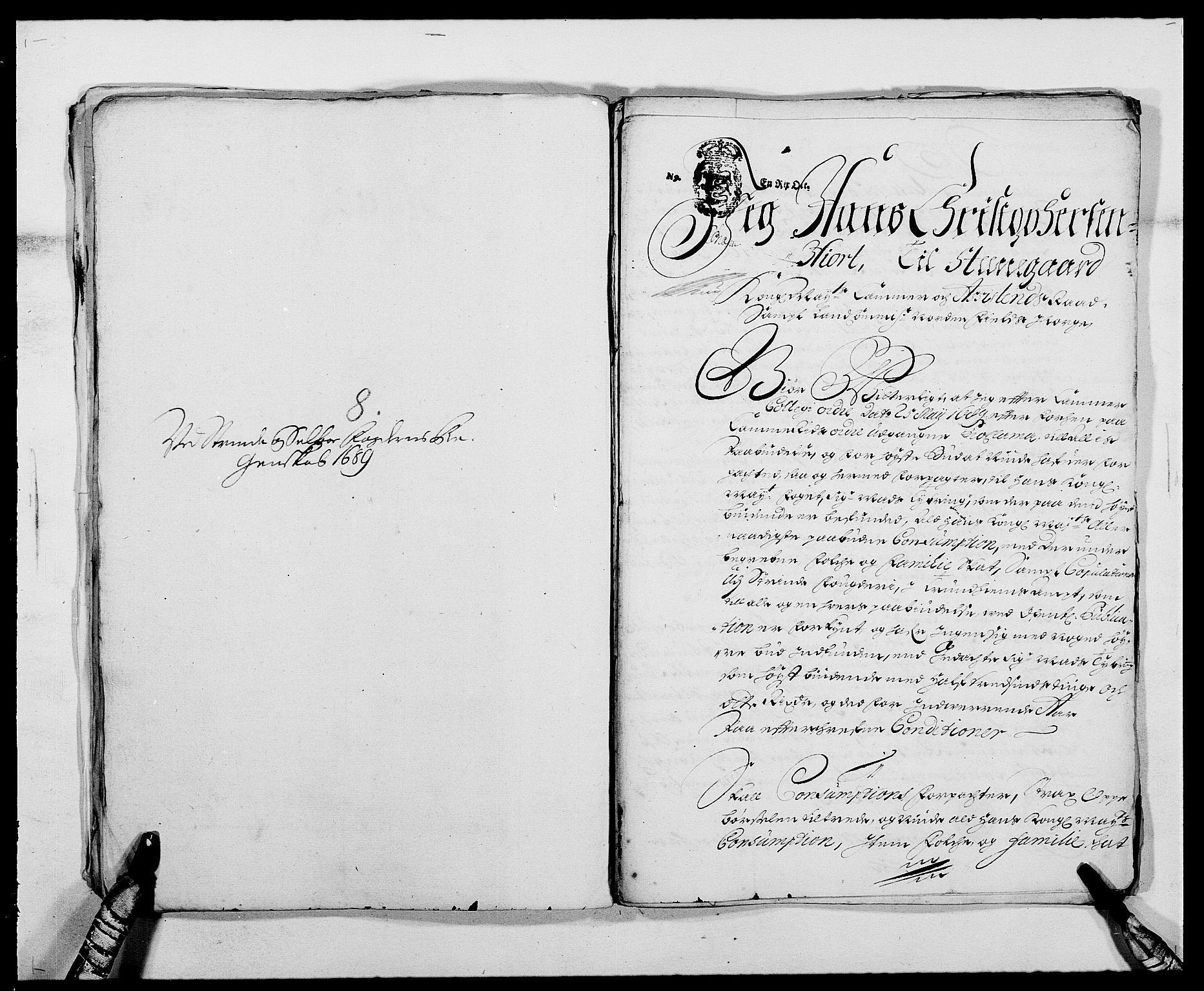 RA, Rentekammeret inntil 1814, Reviderte regnskaper, Fogderegnskap, R61/L4102: Fogderegnskap Strinda og Selbu, 1689-1690, s. 57