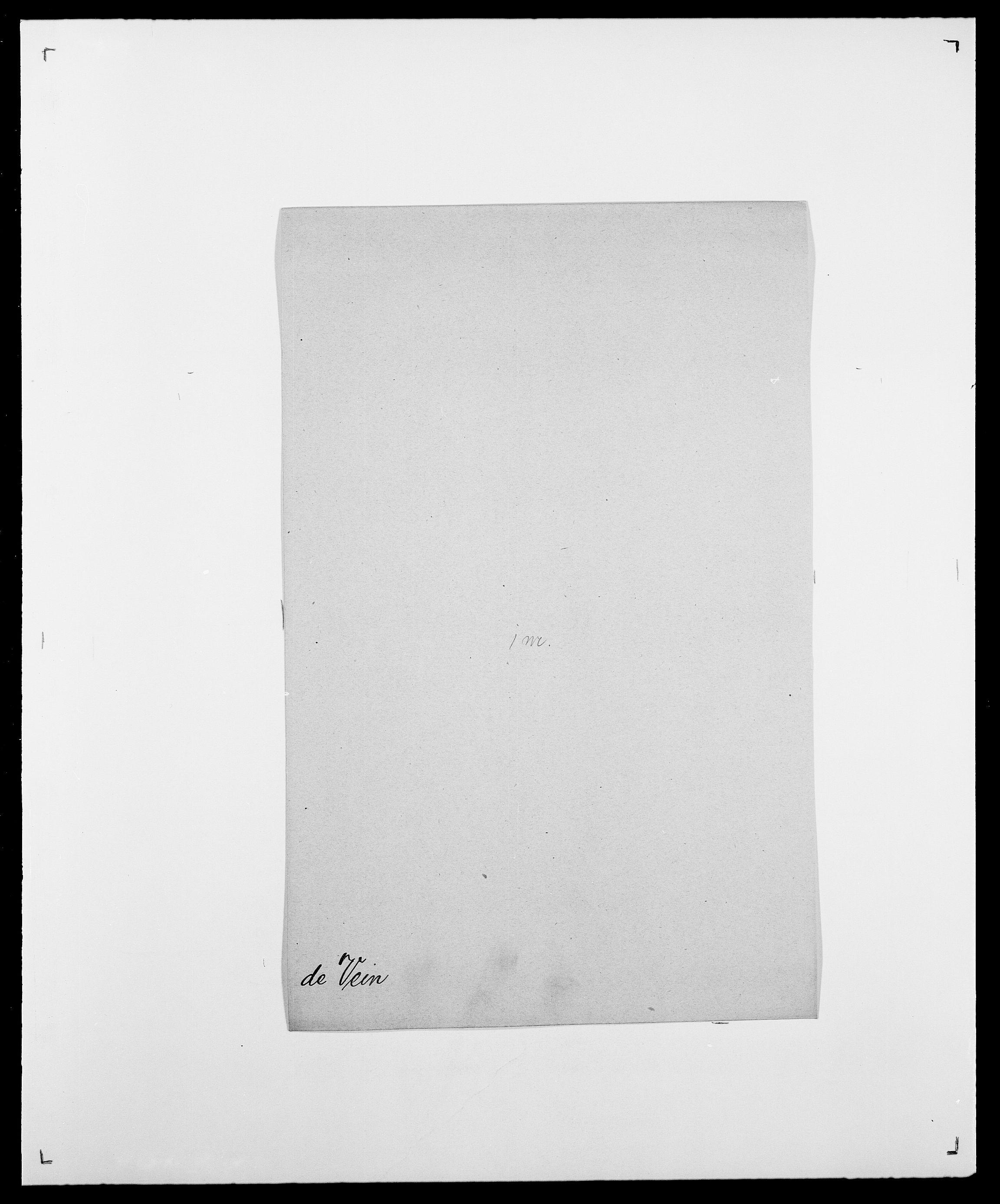 SAO, Delgobe, Charles Antoine - samling, D/Da/L0040: Usgaard - Velund, s. 587