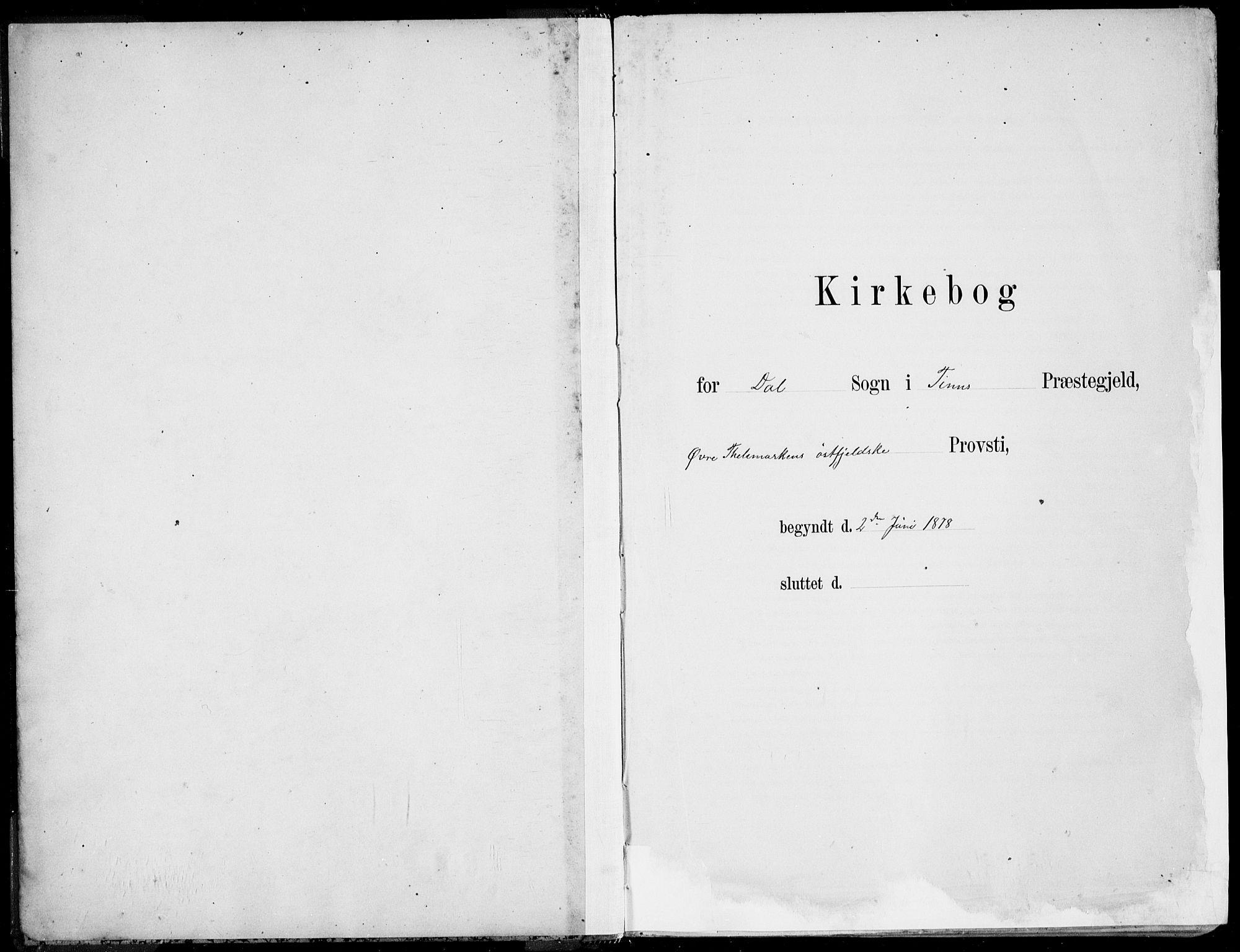 SAKO, Rjukan kirkebøker, F/Fa/L0001: Ministerialbok nr. 1, 1878-1912